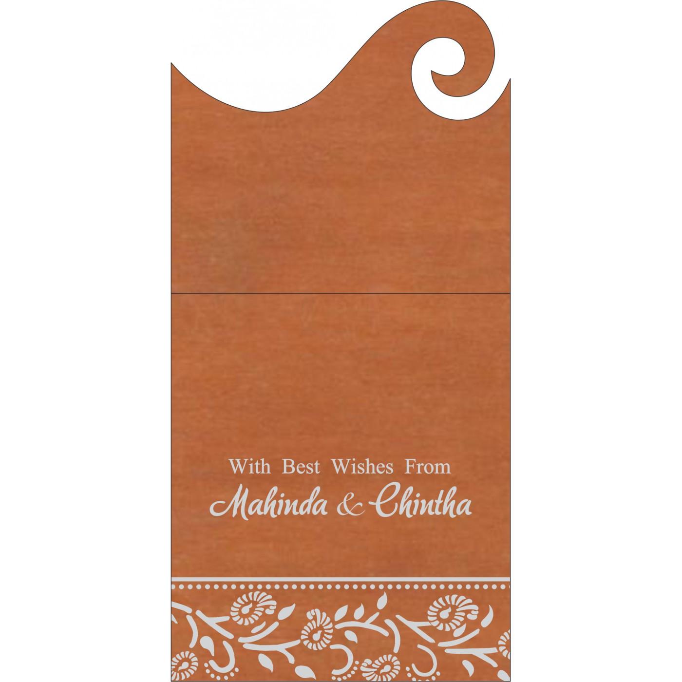 Money Envelopes : CME-8206G - IndianWeddingCards