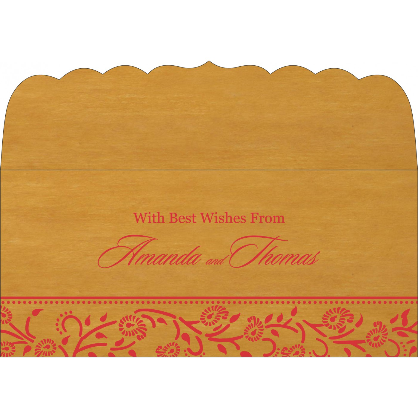 Money Envelopes : CME-8206H - IndianWeddingCards