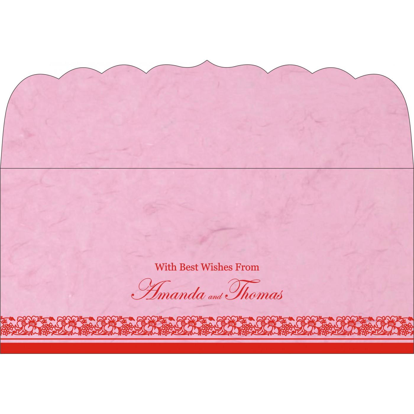 Money Envelopes : CME-8207K - IndianWeddingCards