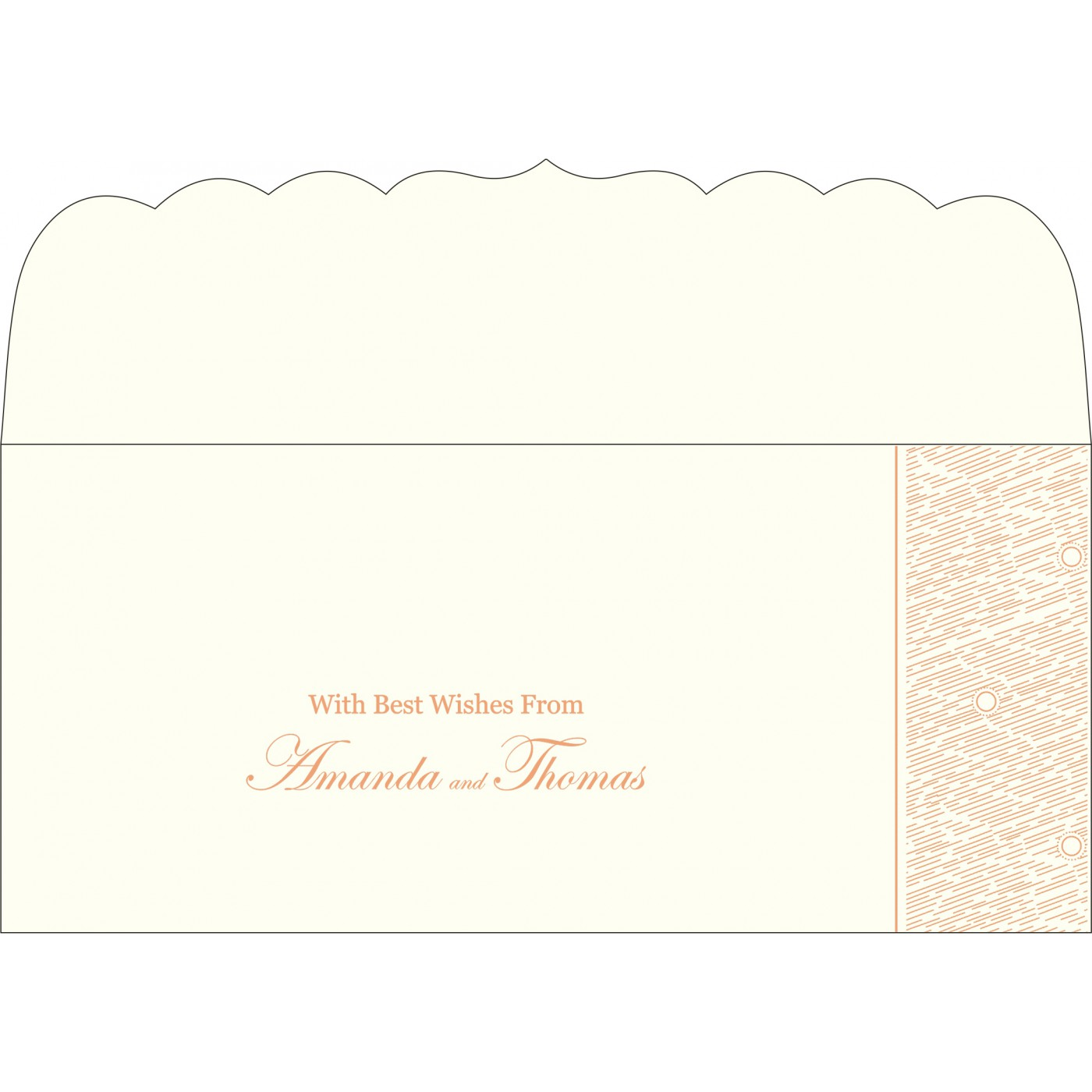 Money Envelopes : CME-8209A - IndianWeddingCards