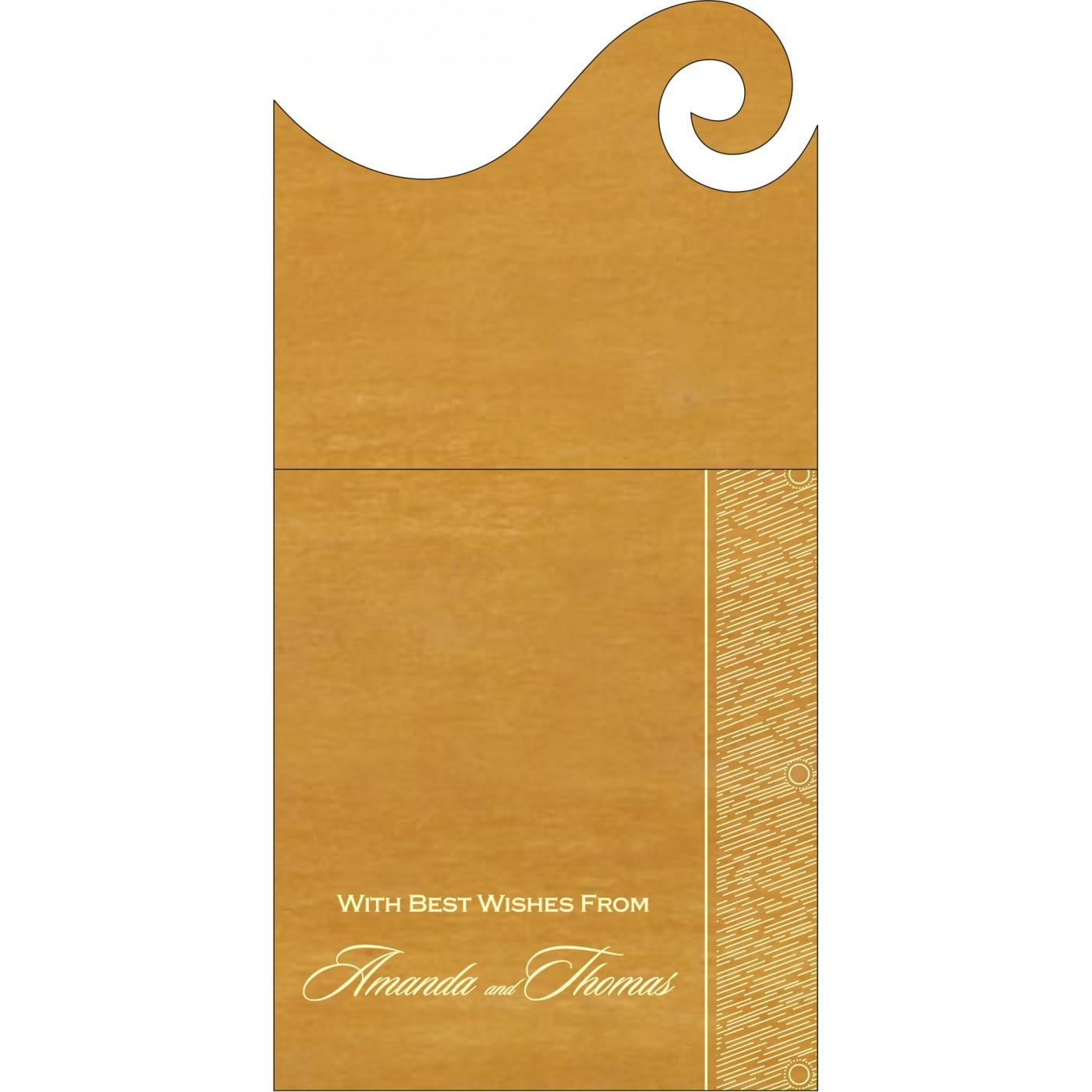 Money Envelopes : CME-8209B - IndianWeddingCards