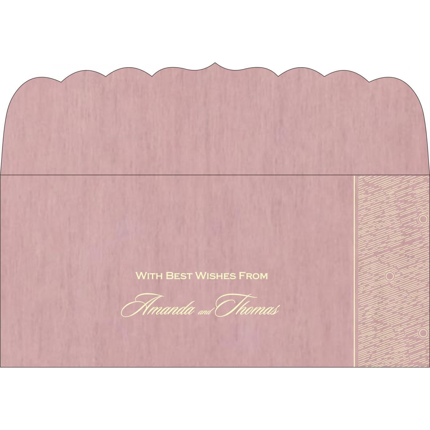 Money Envelopes : CME-8209H - IndianWeddingCards