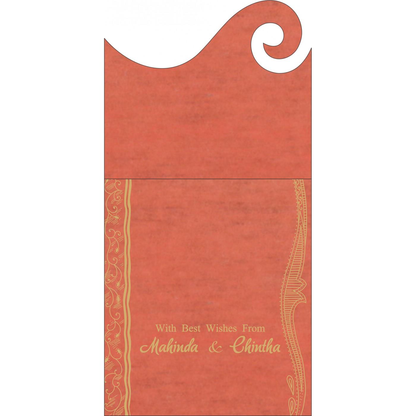 Money Envelopes : CME-8210F - IndianWeddingCards
