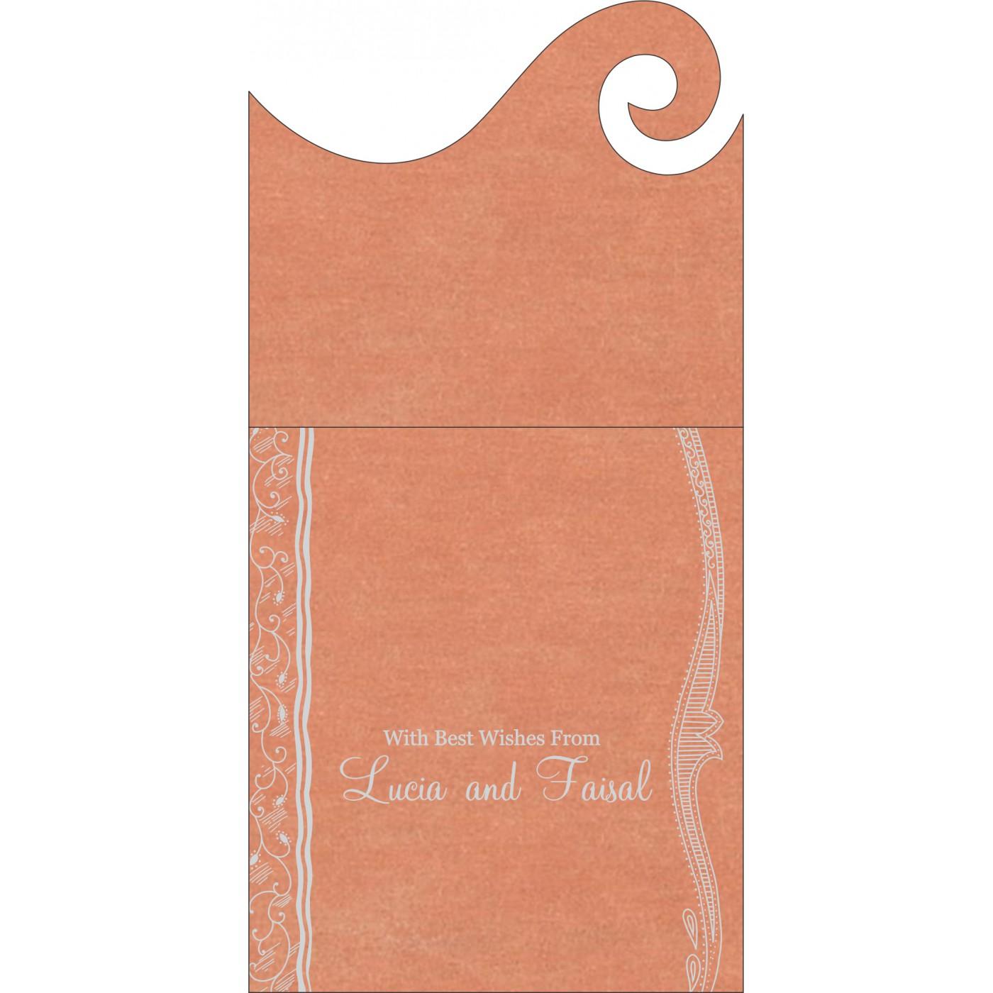 Money Envelopes : CME-8210M - IndianWeddingCards
