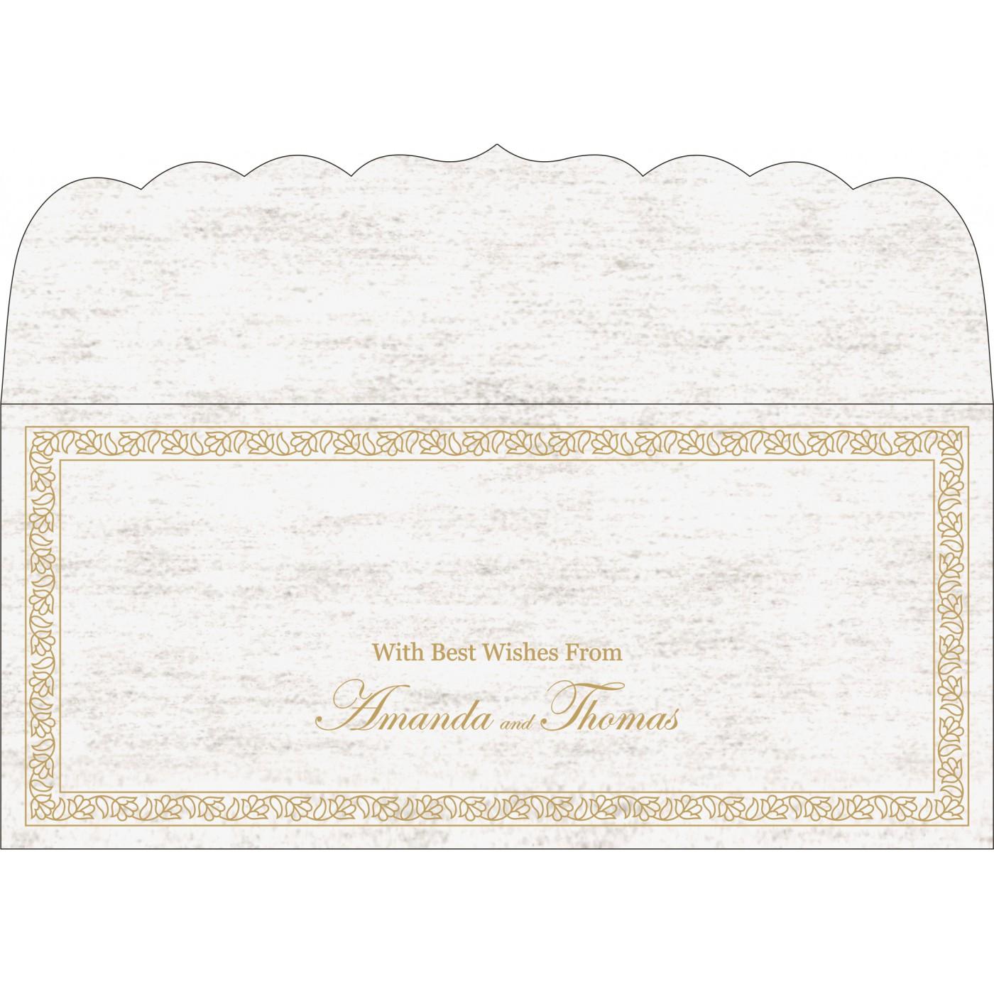 Money Envelopes : CME-8211A - IndianWeddingCards