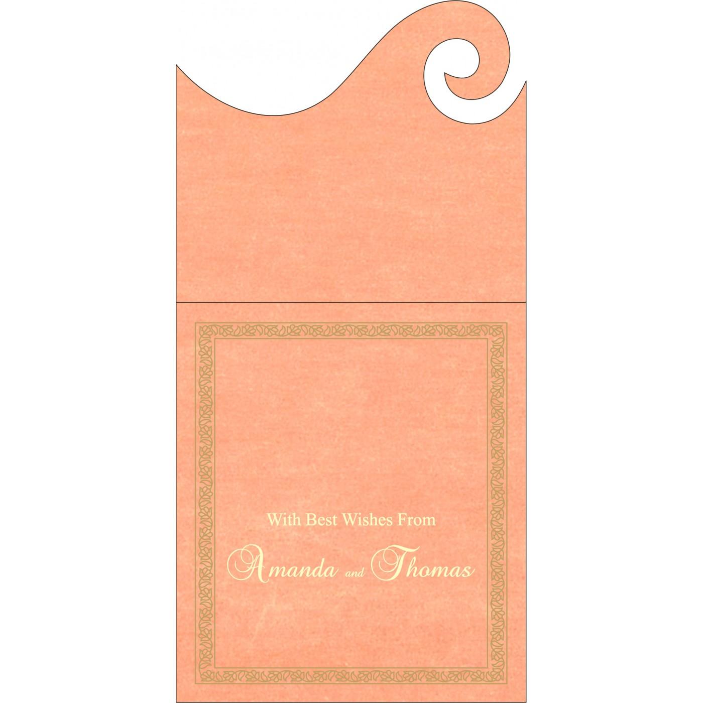 Money Envelopes : CME-8211J - IndianWeddingCards