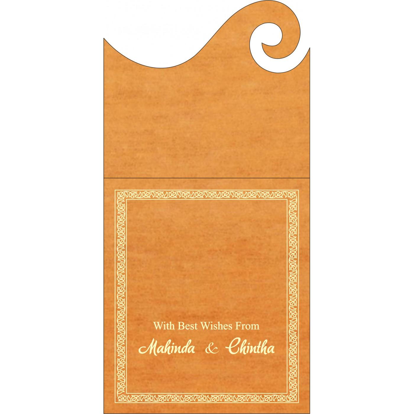 Money Envelopes : CME-8211L - IndianWeddingCards