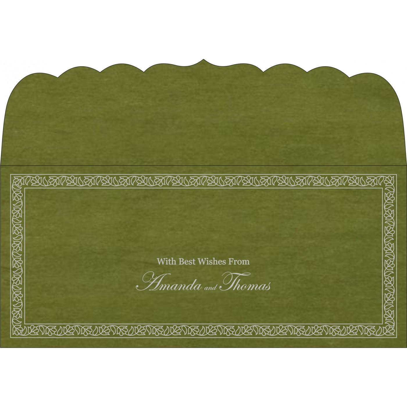 Money Envelopes : CME-8211M - IndianWeddingCards