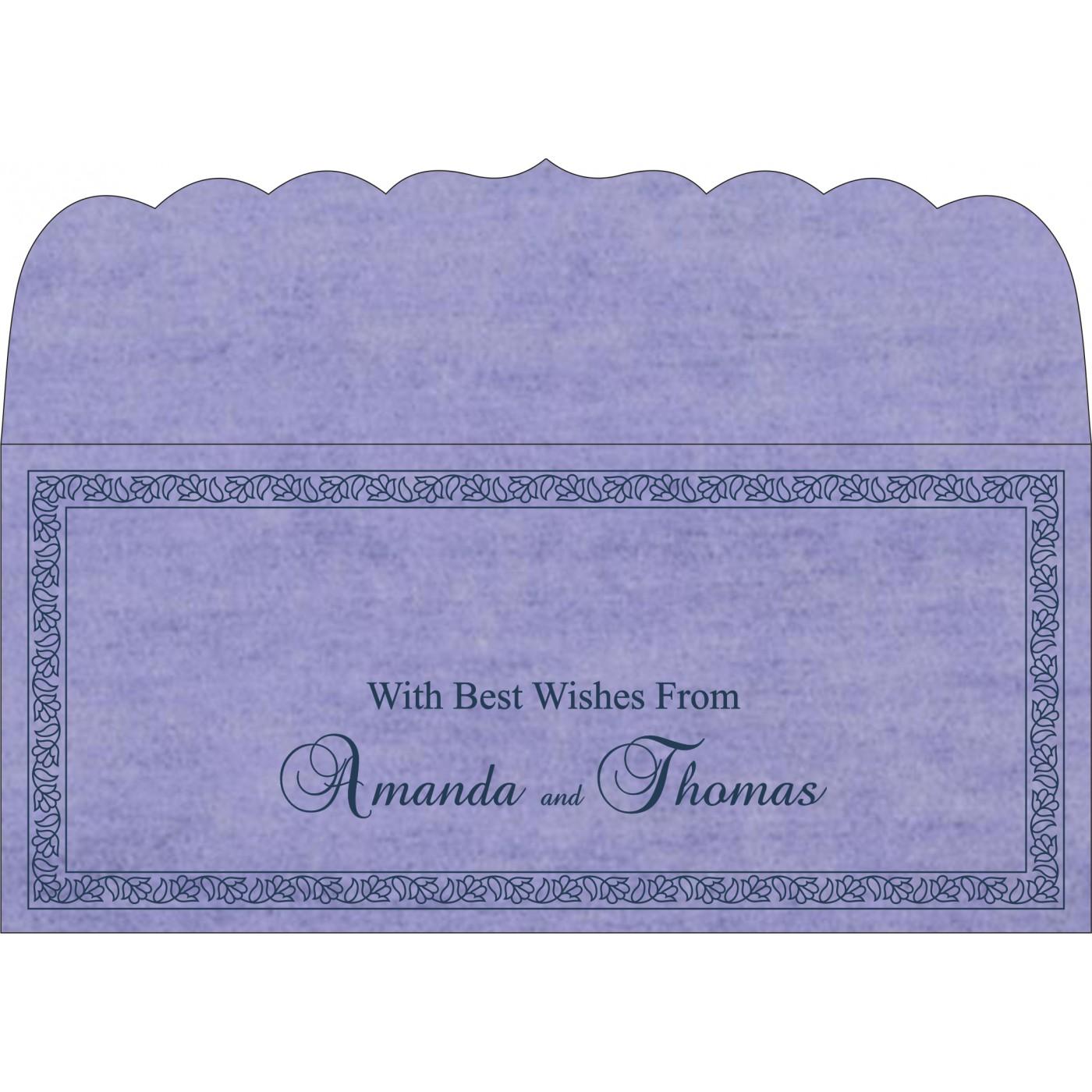 Money Envelopes : CME-8211O - IndianWeddingCards