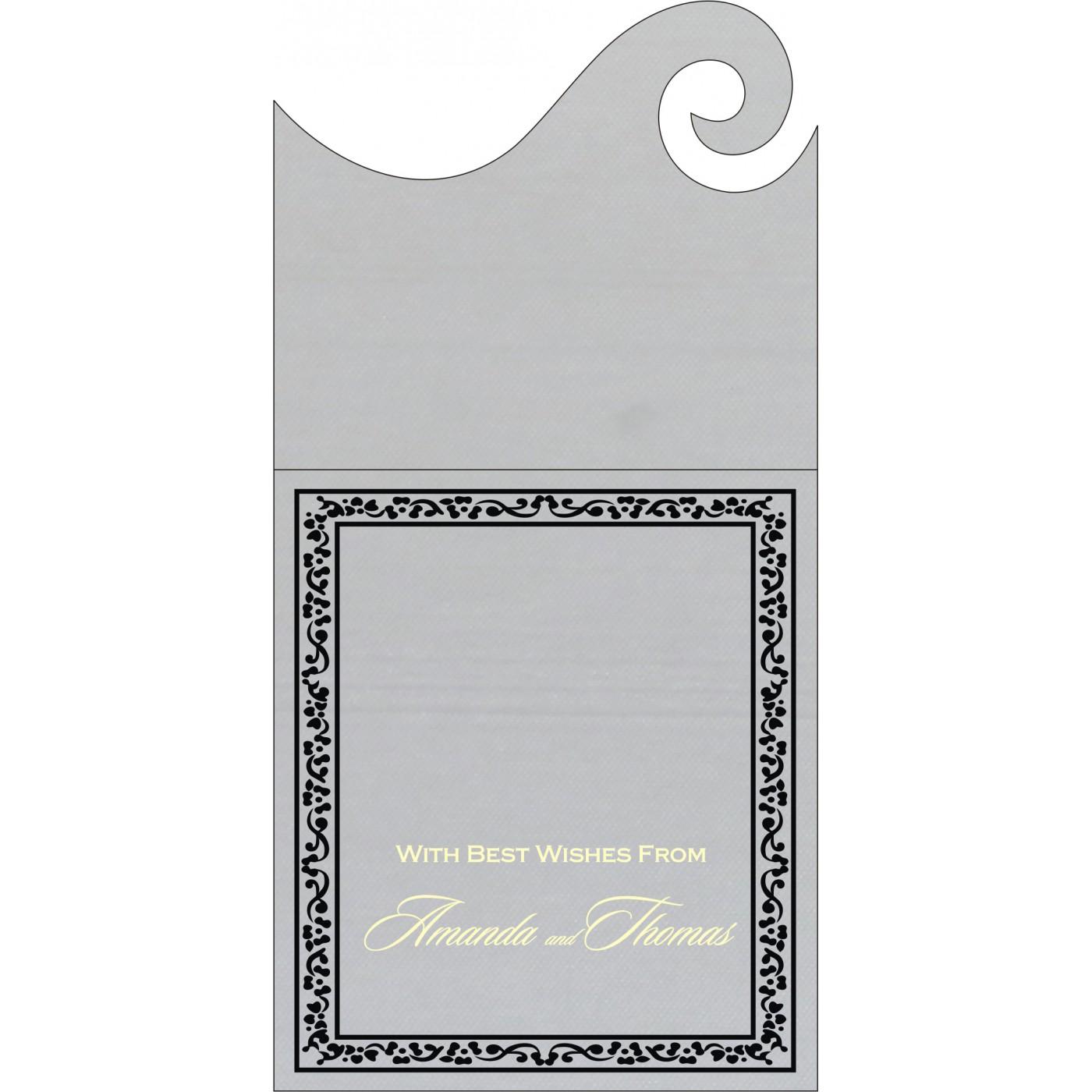 Money Envelopes : CME-8214N - IndianWeddingCards