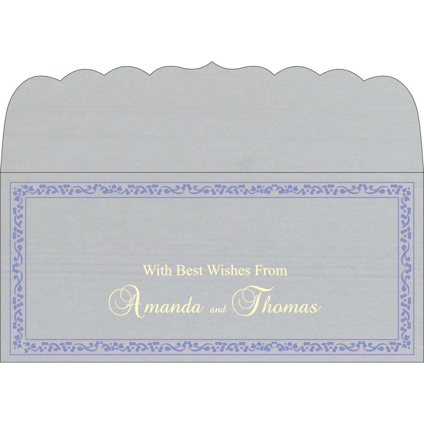 Money Envelopes : CME-8214O - IndianWeddingCards
