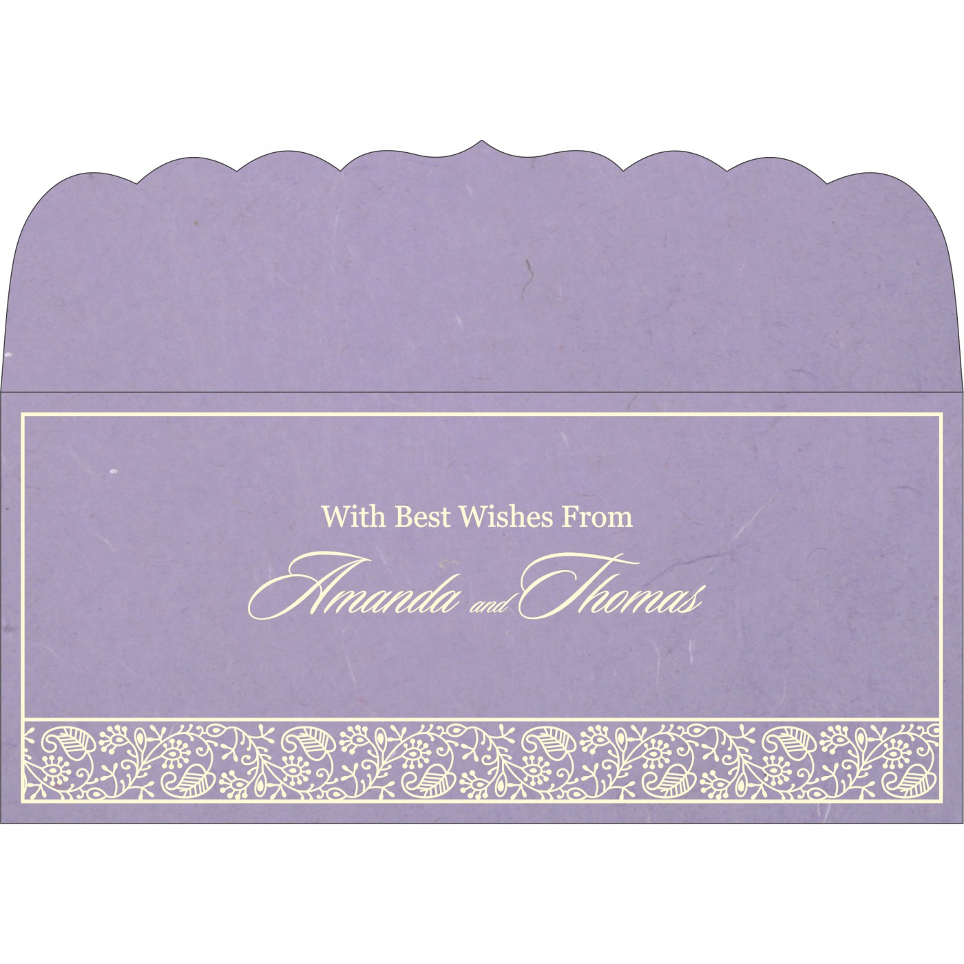 Money Envelopes : CME-8215B - IndianWeddingCards