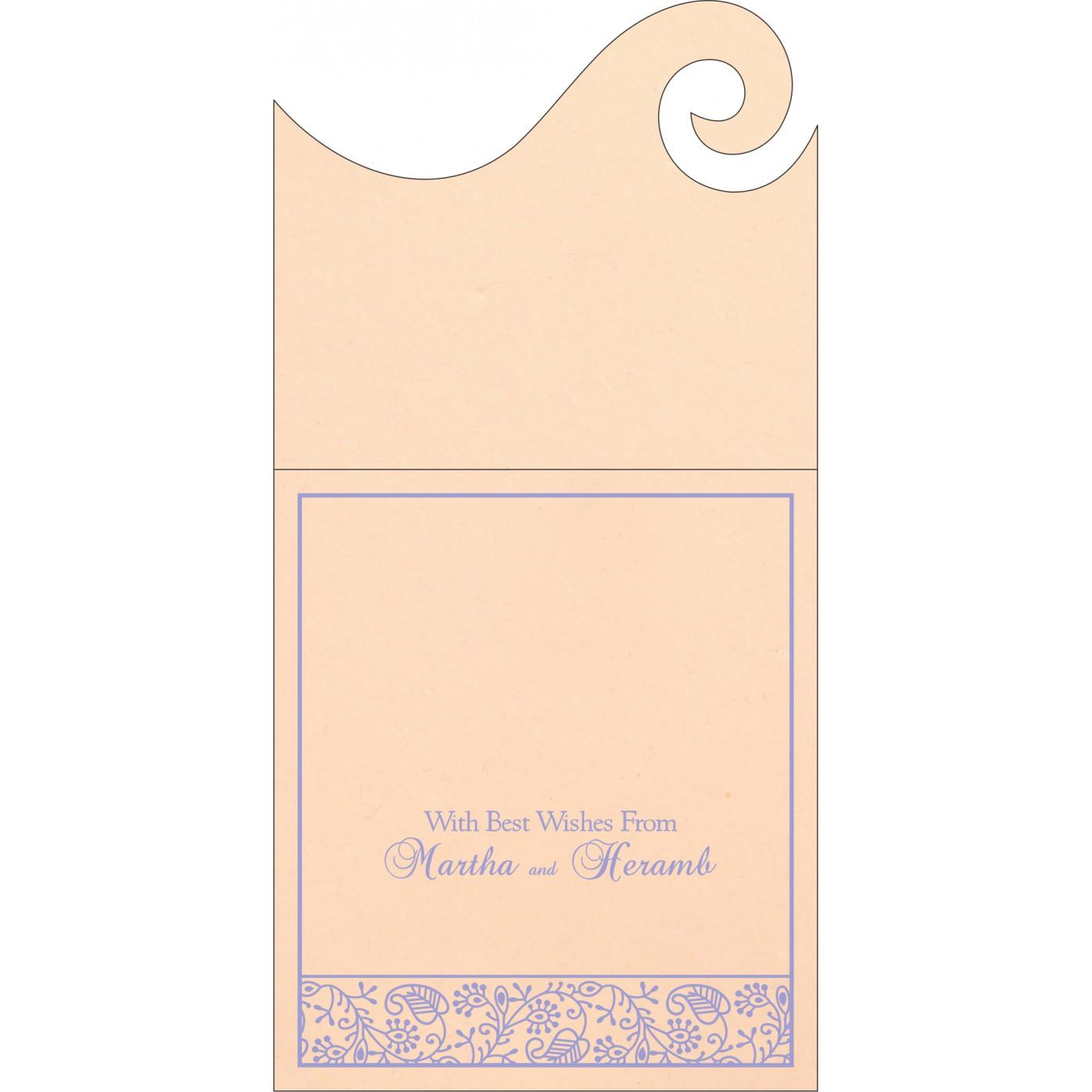 Money Envelopes : CME-8215M - IndianWeddingCards