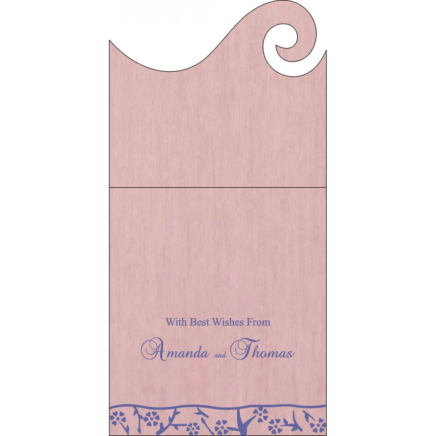 Money Envelopes : CME-8216I - IndianWeddingCards
