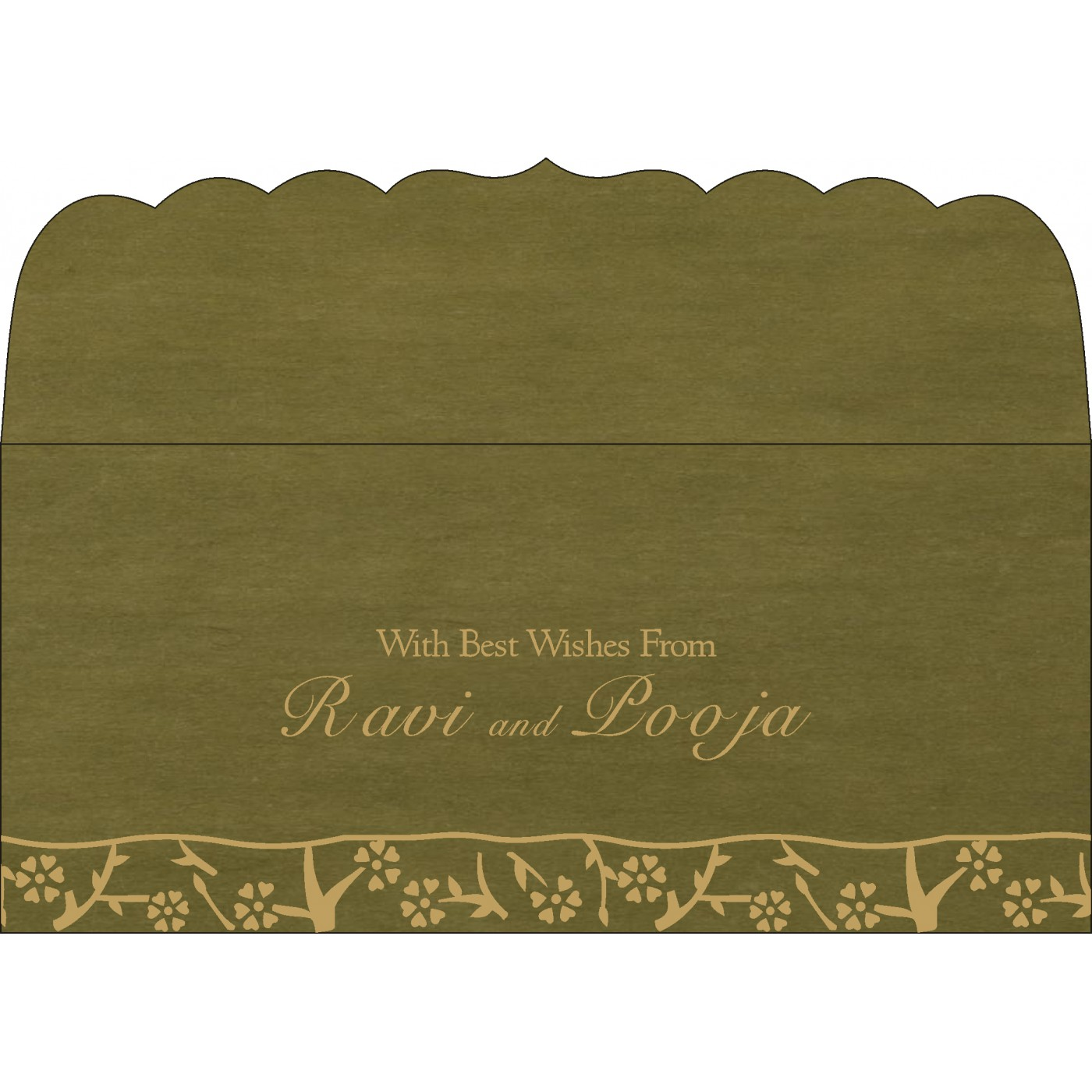 Money Envelopes : CME-8216J - IndianWeddingCards