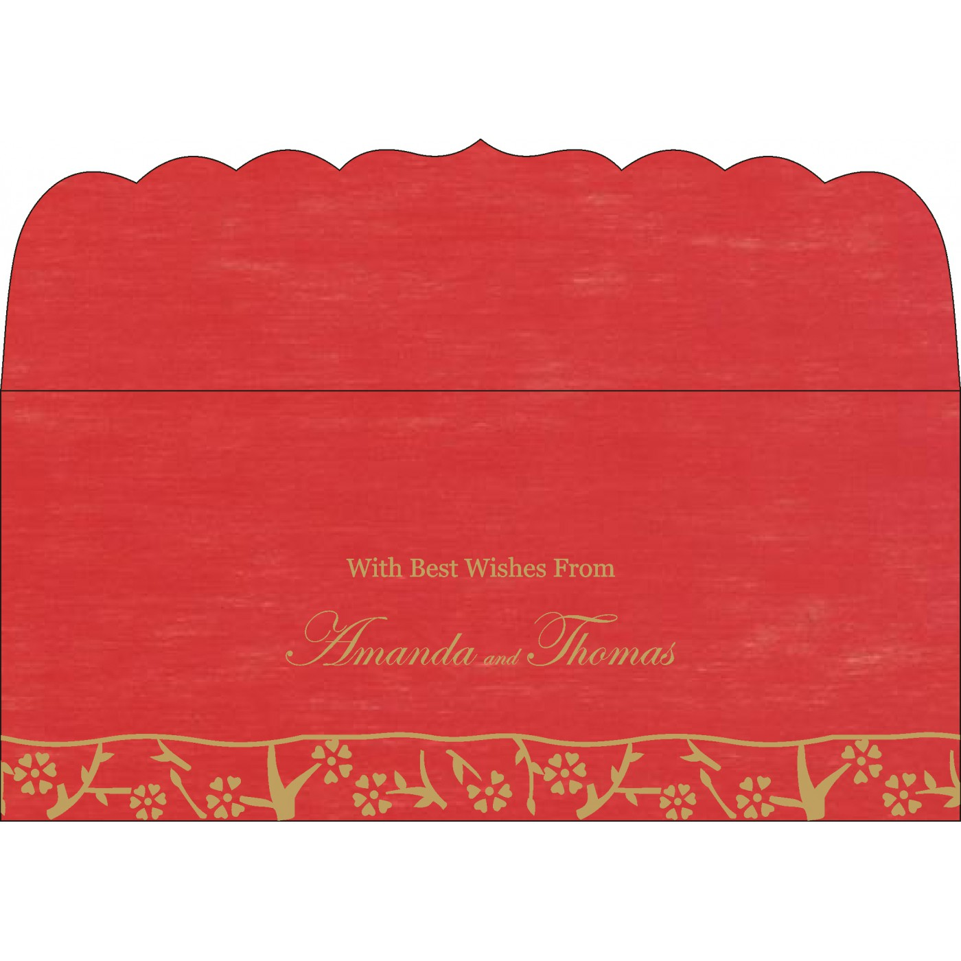 Money Envelopes : CME-8216L - IndianWeddingCards
