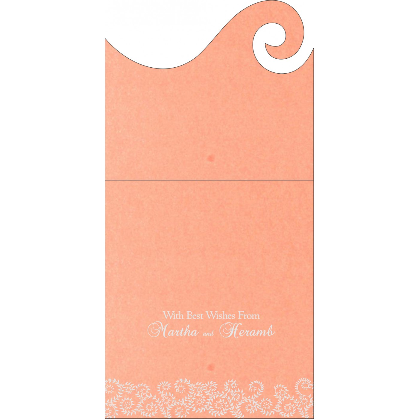 Money Envelopes : CME-8217E - IndianWeddingCards