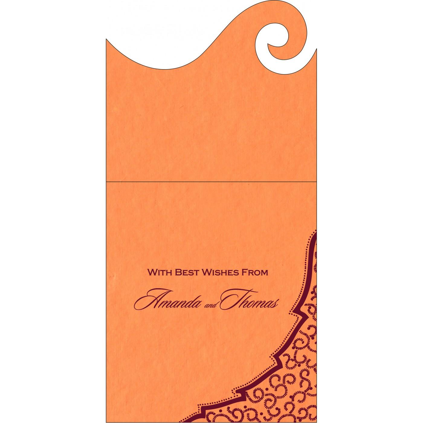 Money Envelopes : CME-8219B - IndianWeddingCards