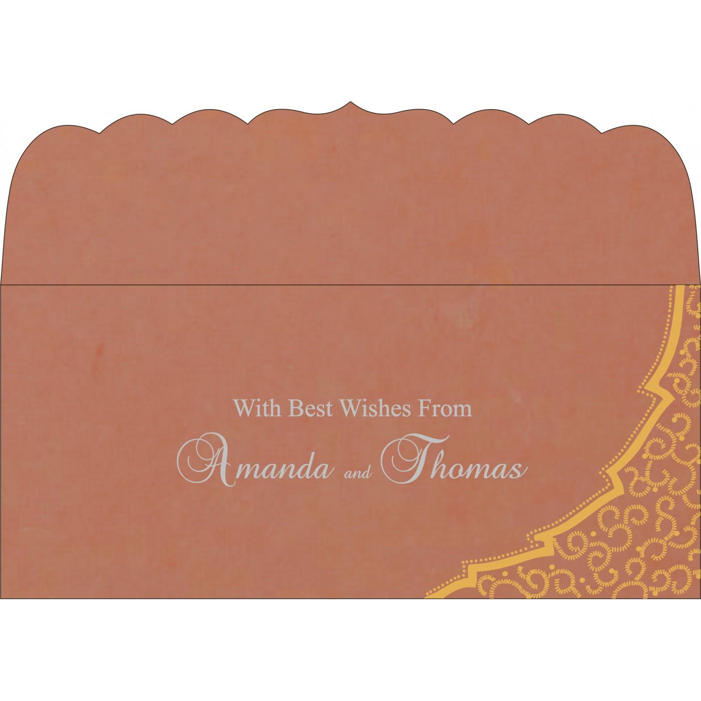 Money Envelopes : CME-8219M - IndianWeddingCards