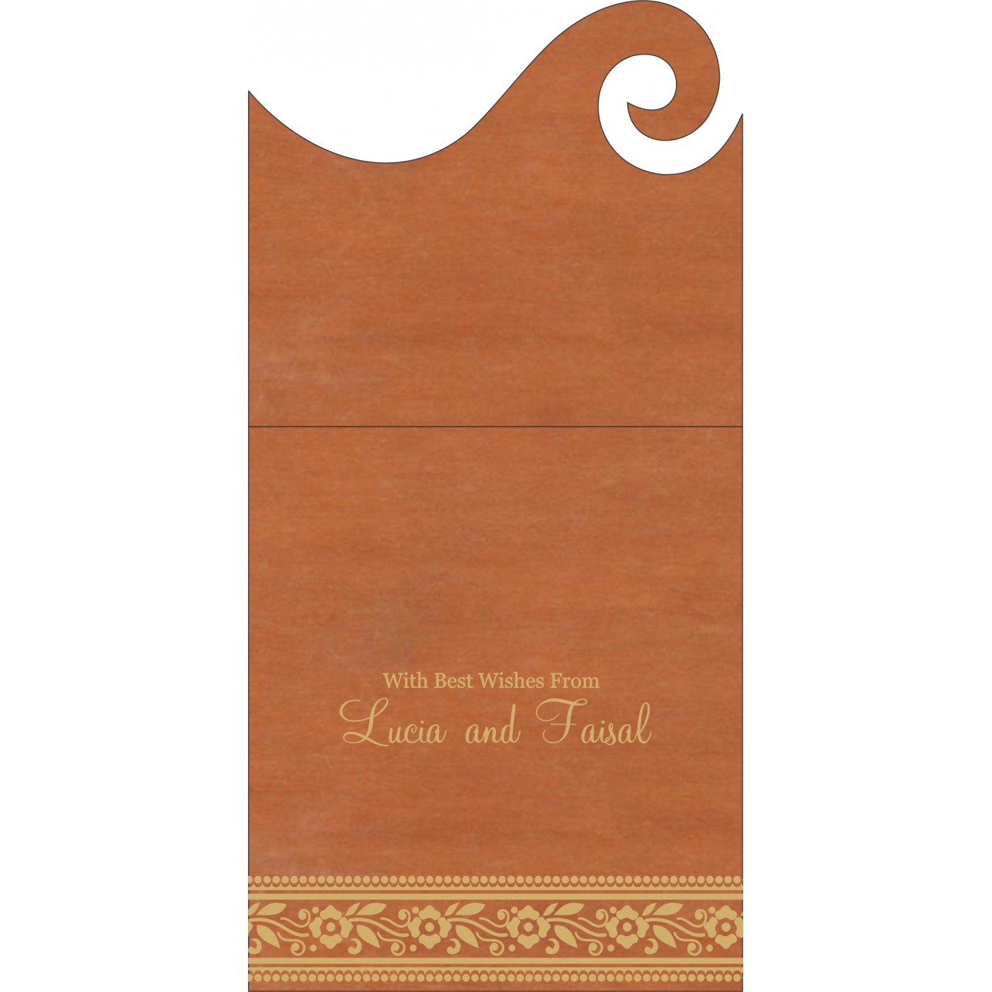 Money Envelopes : CME-8220C - IndianWeddingCards