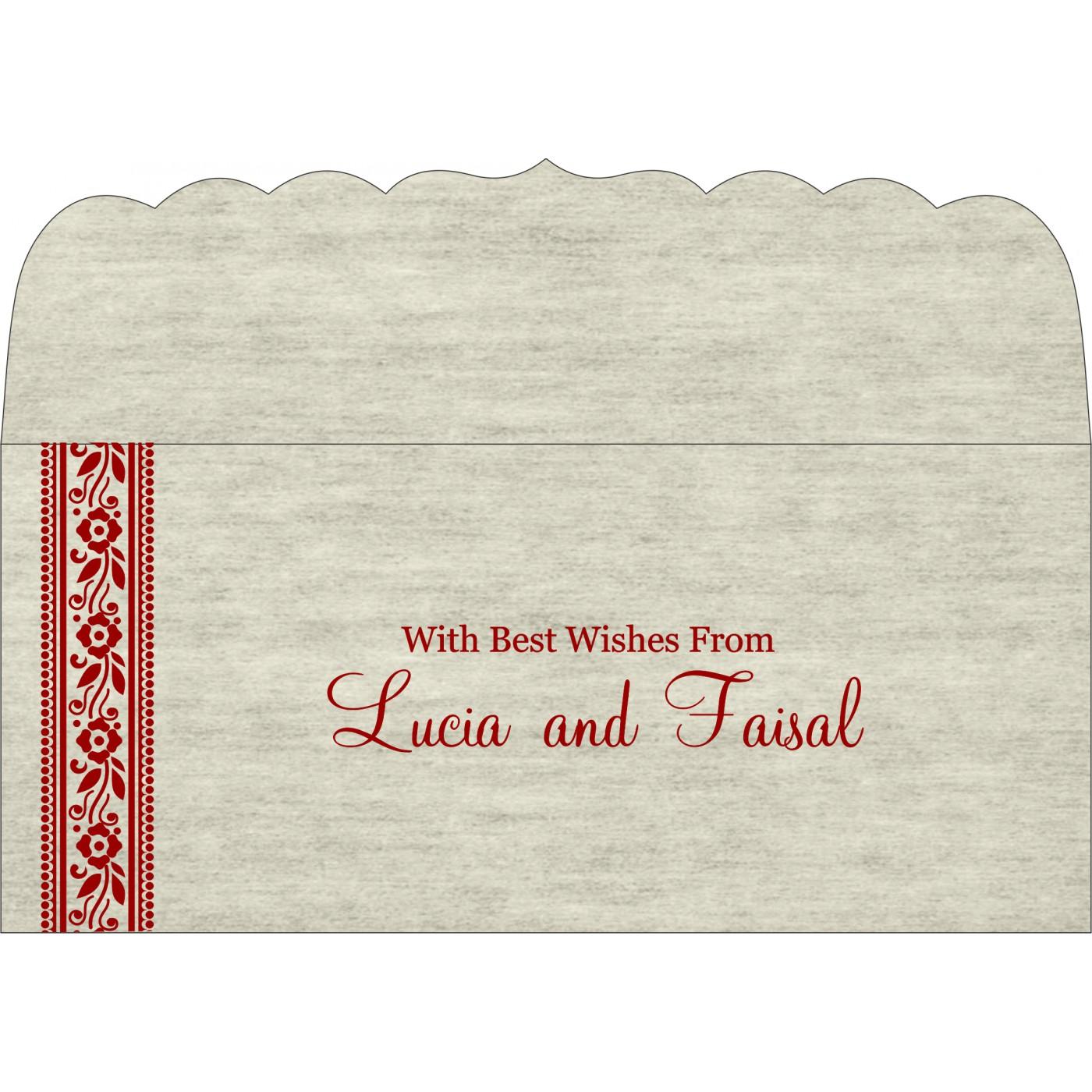 Money Envelopes : CME-8220I - IndianWeddingCards