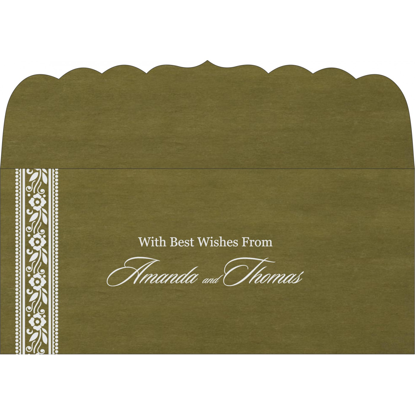 Money Envelopes : CME-8220Q - IndianWeddingCards