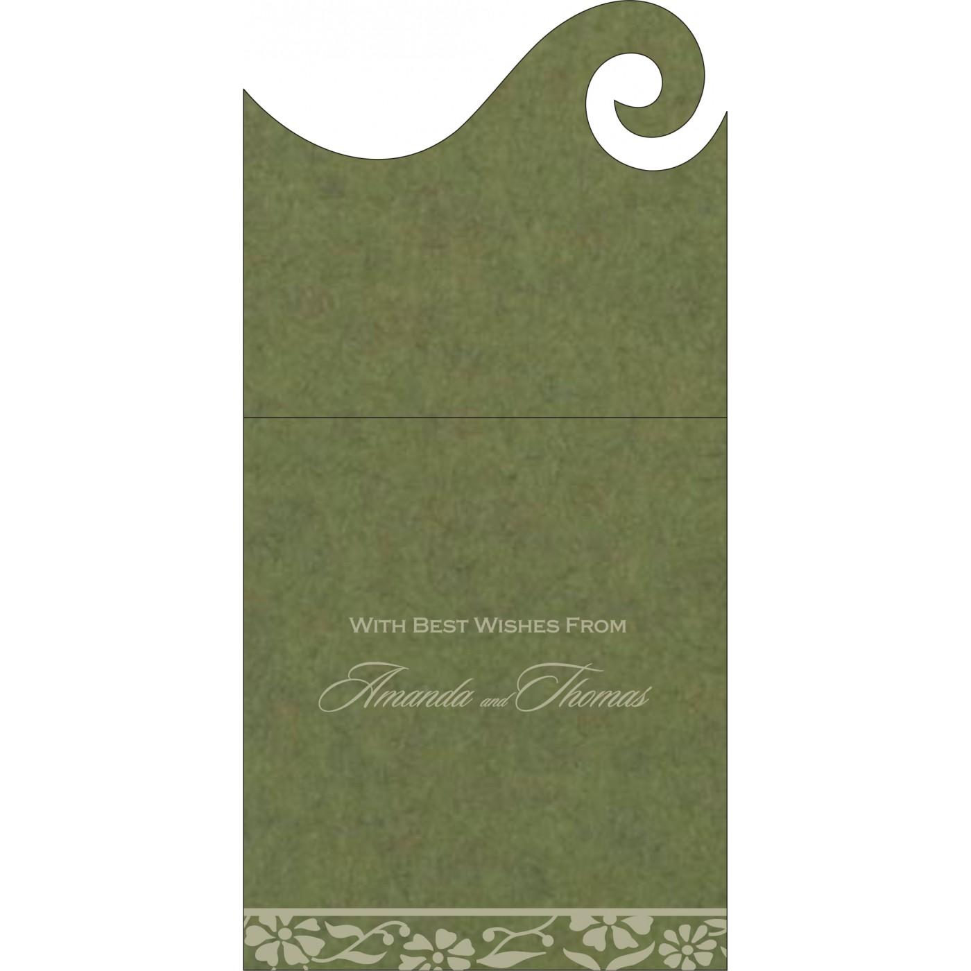 Money Envelopes : CME-8222D - IndianWeddingCards