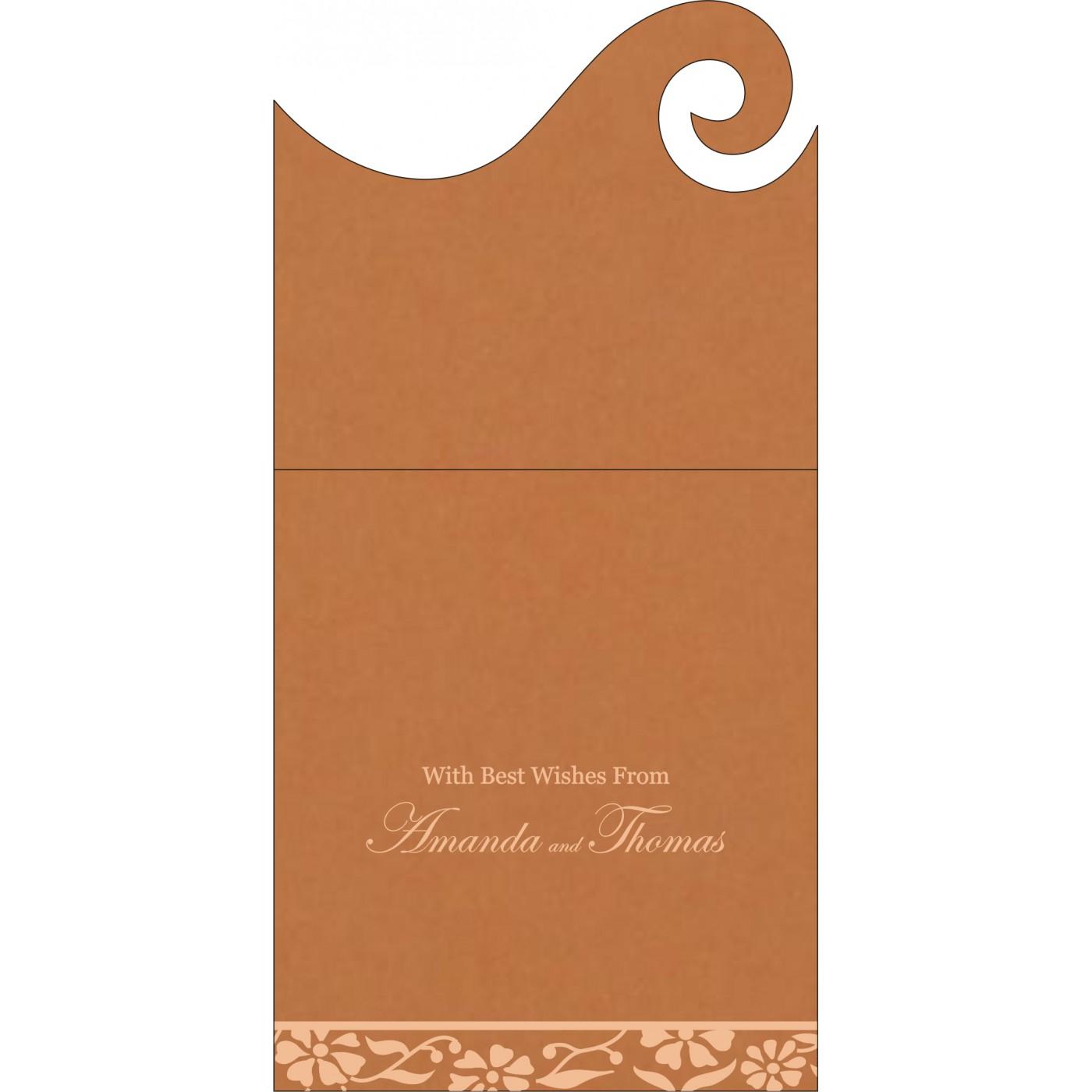 Money Envelopes : CME-8222H - IndianWeddingCards