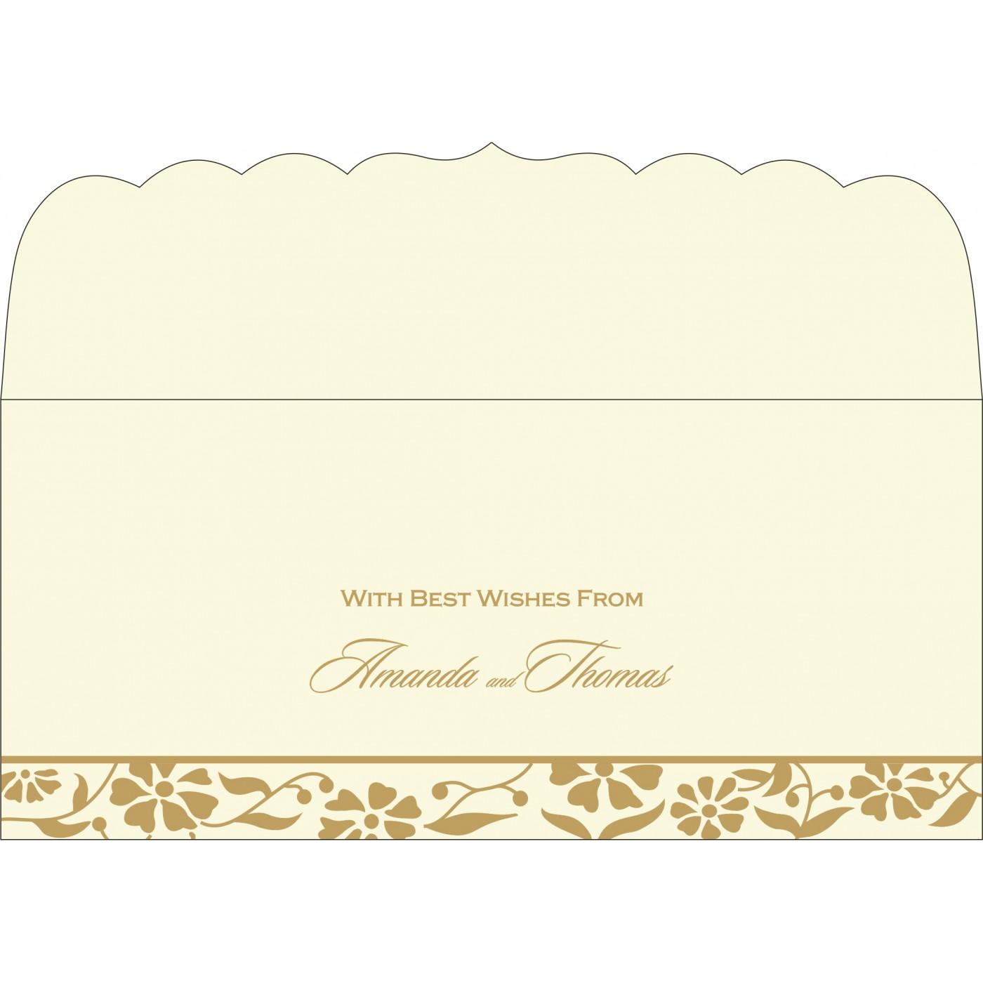 Money Envelopes : CME-8222I - IndianWeddingCards