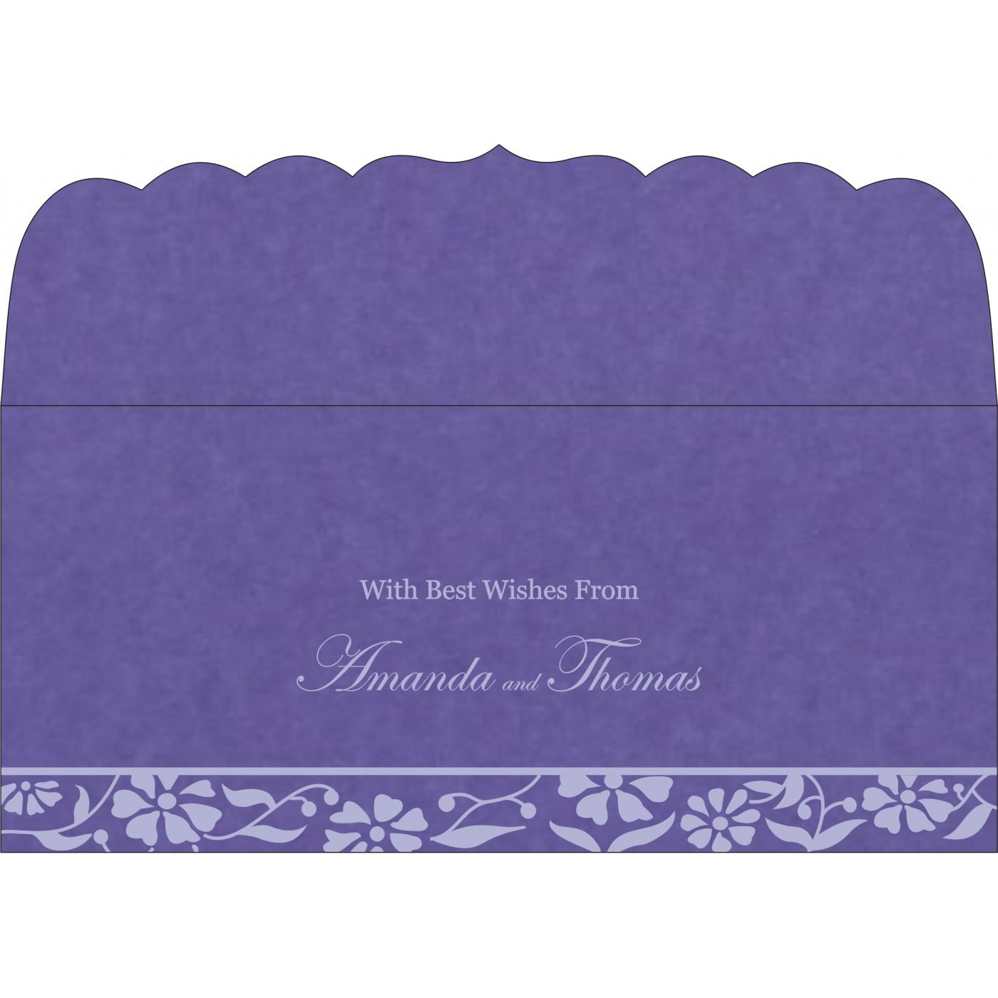 Money Envelopes : CME-8222O - IndianWeddingCards
