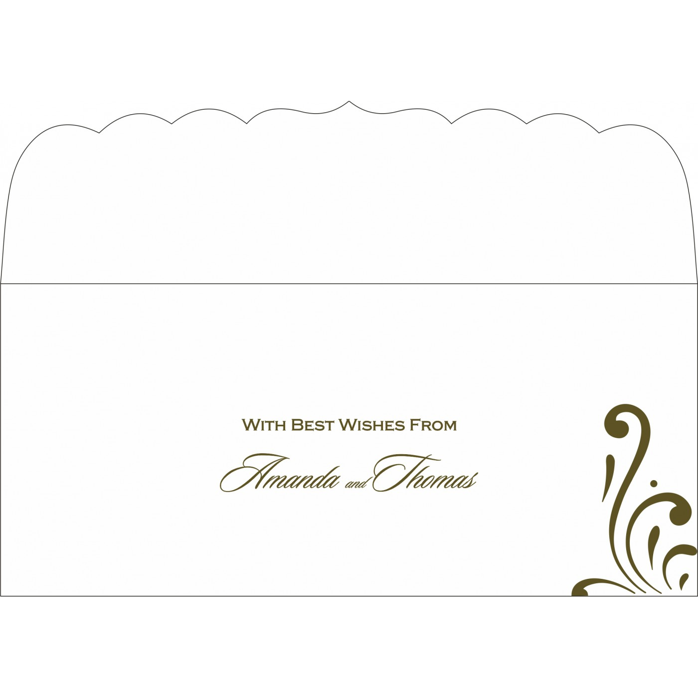 Money Envelopes : CME-8223I - IndianWeddingCards