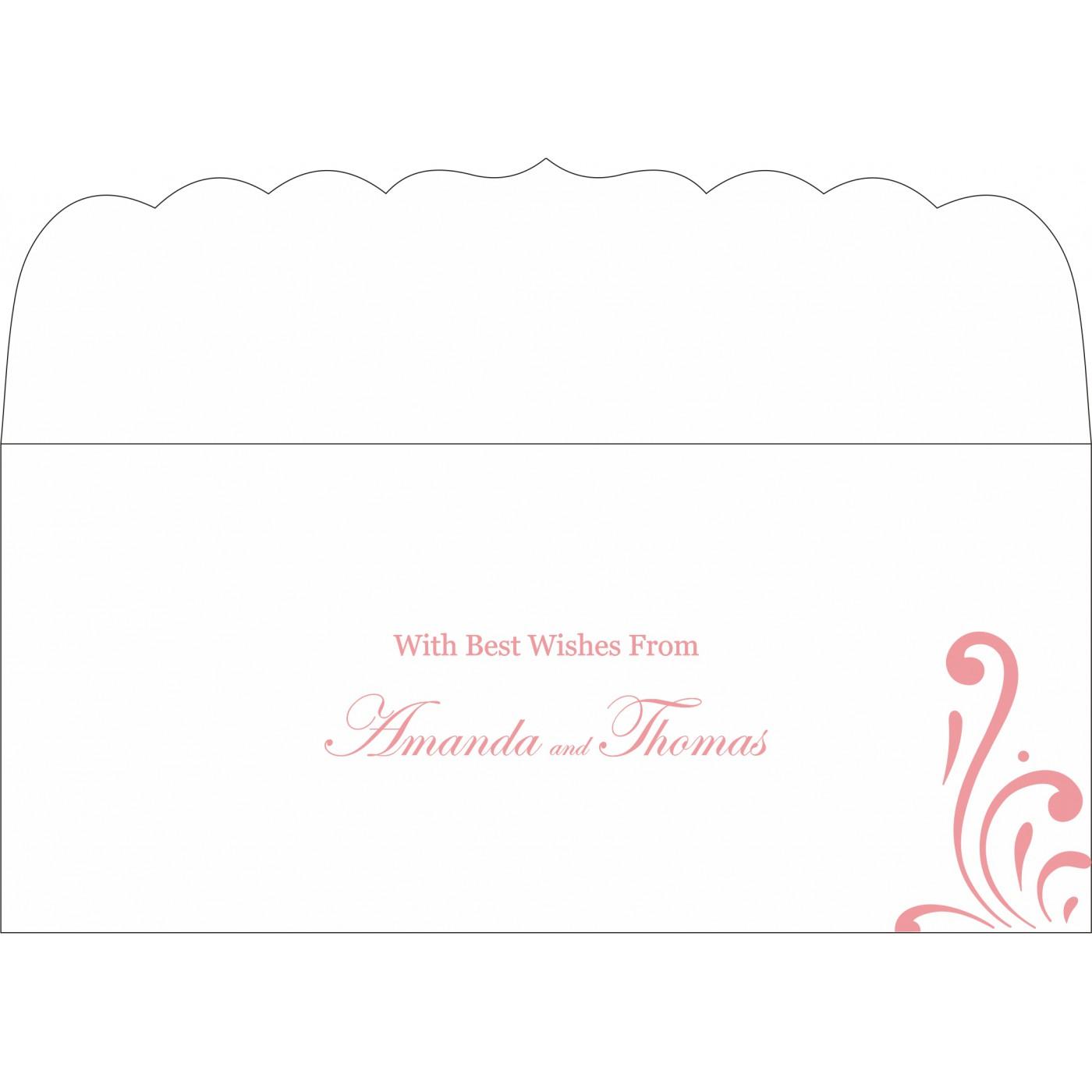 Money Envelopes : CME-8223N - IndianWeddingCards