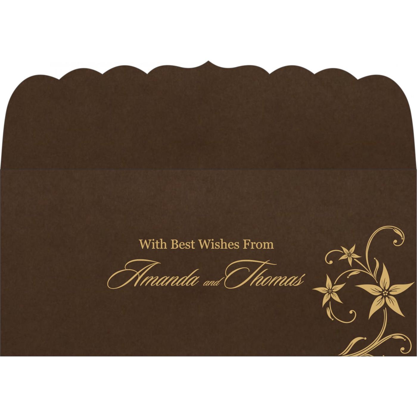 Money Envelopes : CME-8225C - IndianWeddingCards