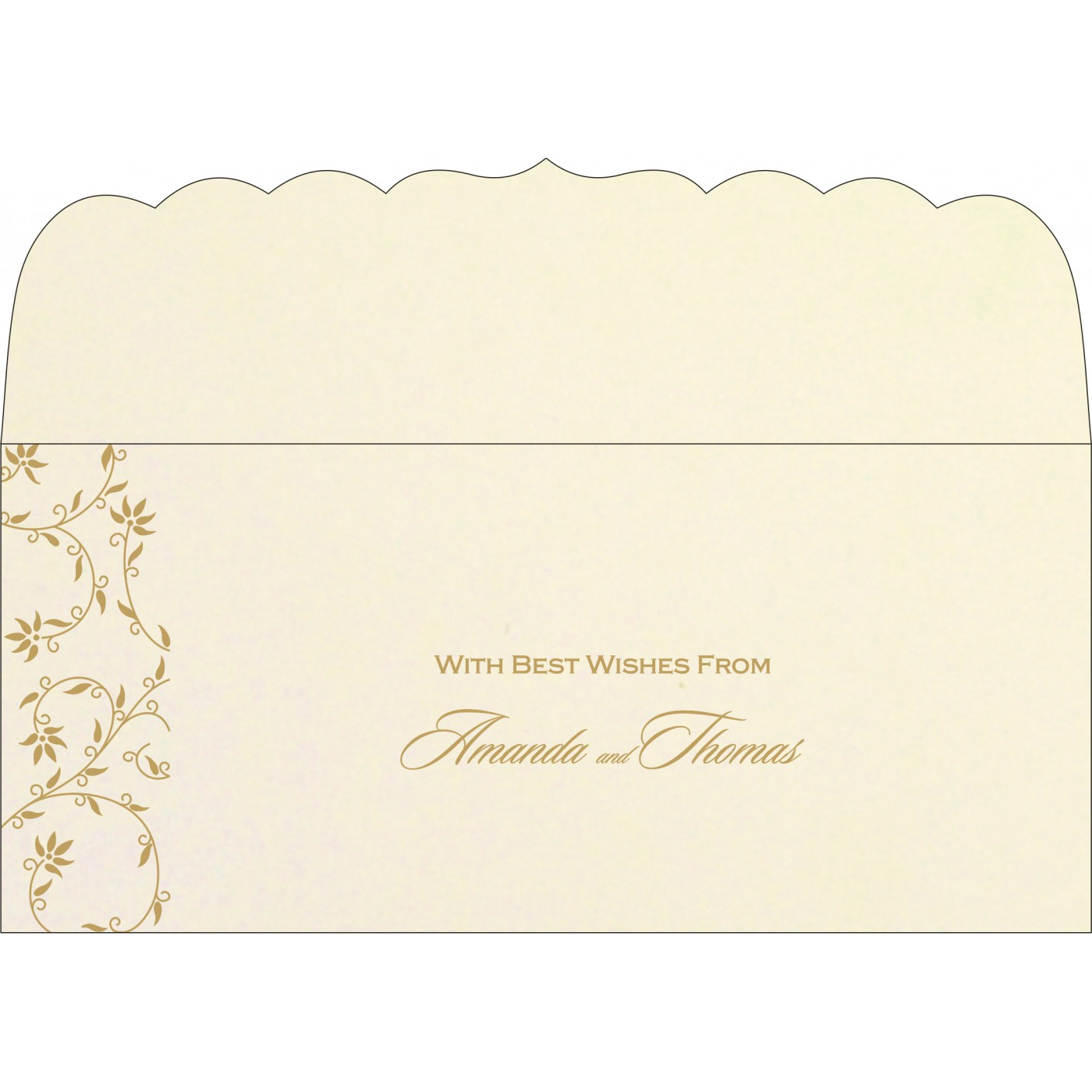 Money Envelopes : CME-8226L - IndianWeddingCards