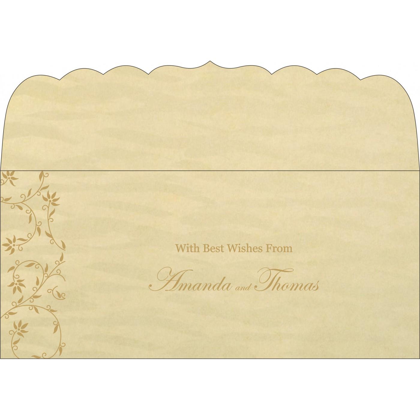 Money Envelopes : CME-8226S - IndianWeddingCards