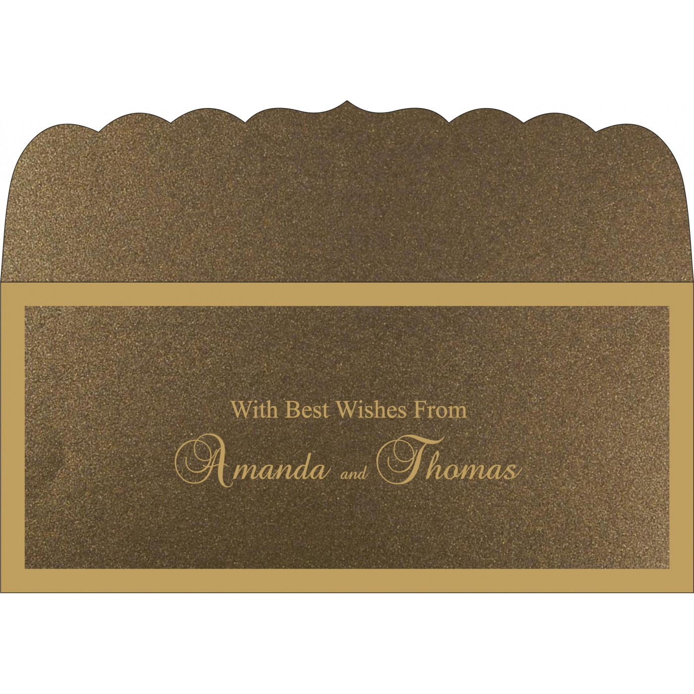 Money Envelopes : CME-8229C - IndianWeddingCards