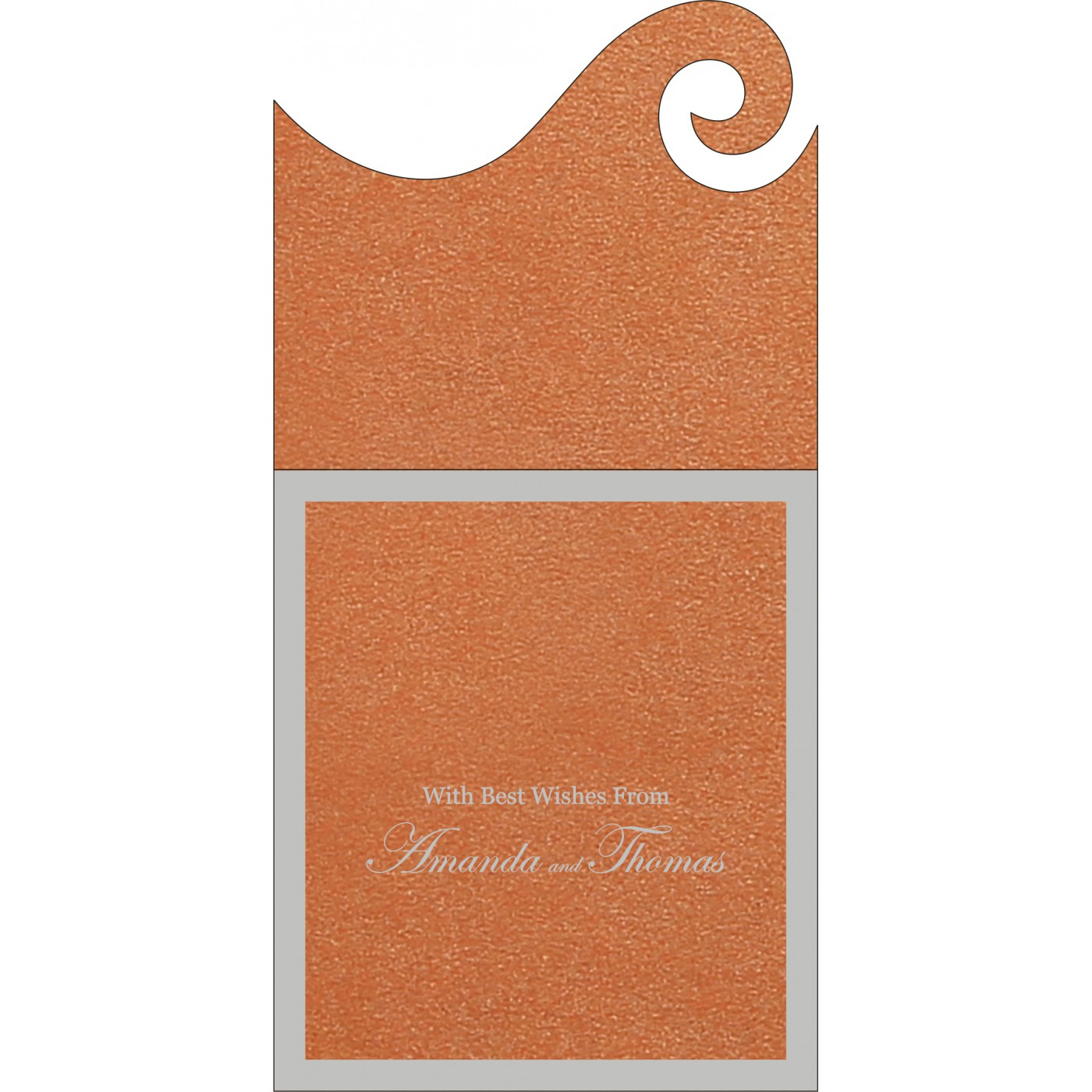 Money Envelopes : CME-8229I - IndianWeddingCards