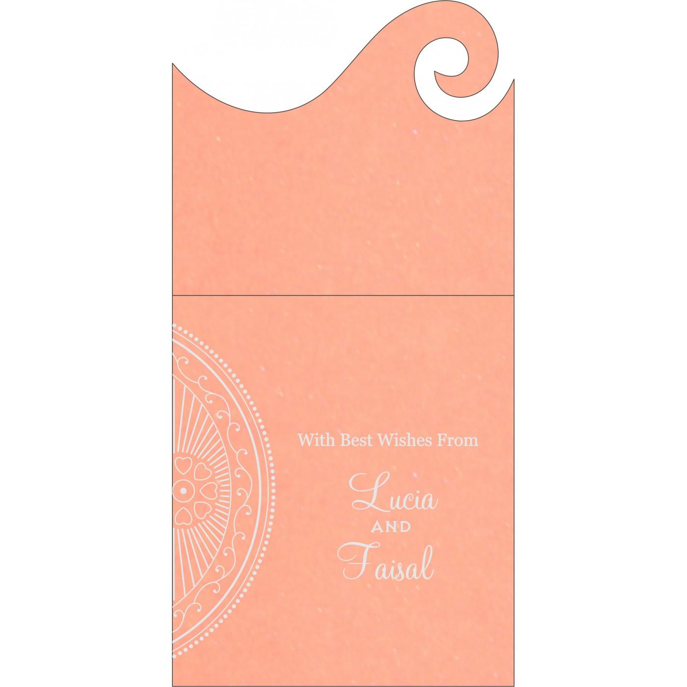 Money Envelopes : CME-8230A - IndianWeddingCards