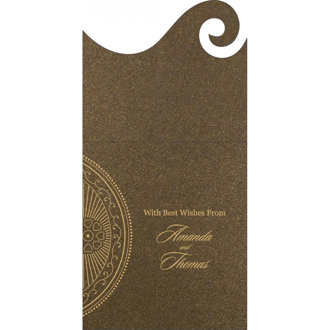 Money Envelopes : CME-8230M - IndianWeddingCards