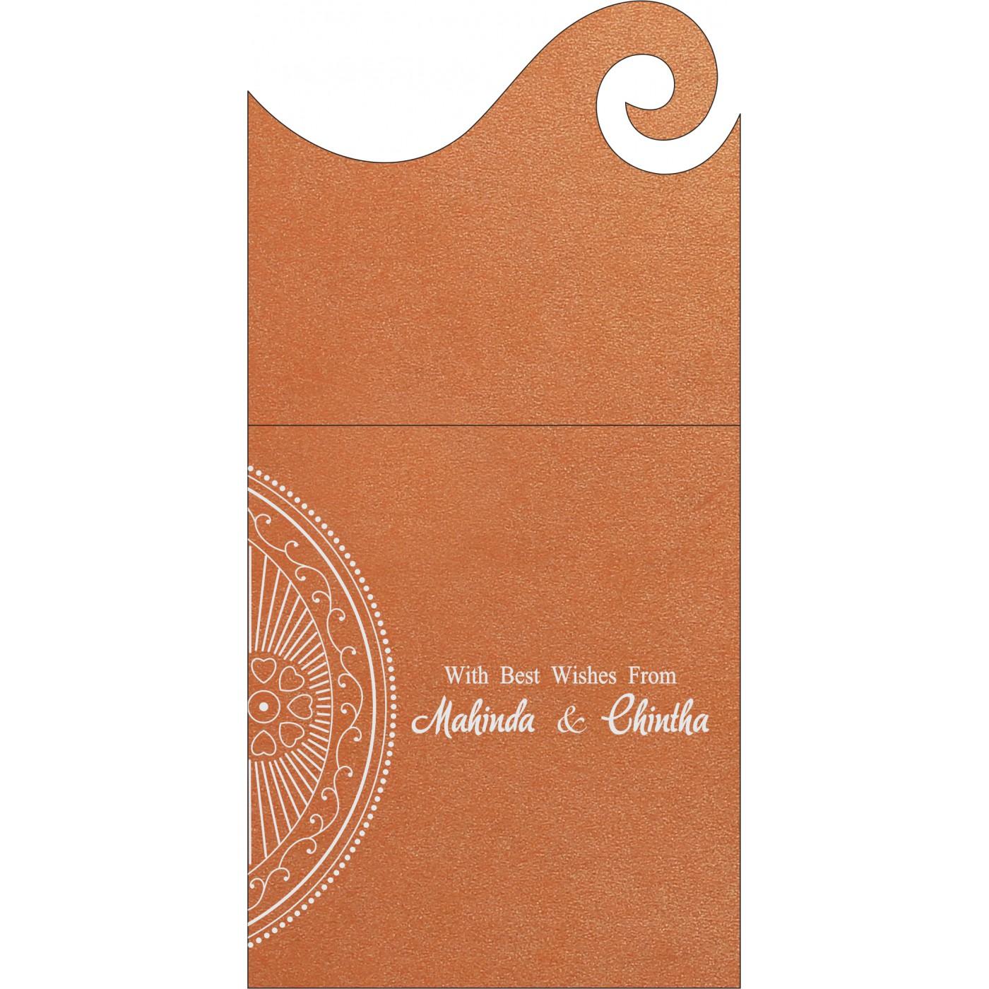 Money Envelopes : CME-8230T - IndianWeddingCards