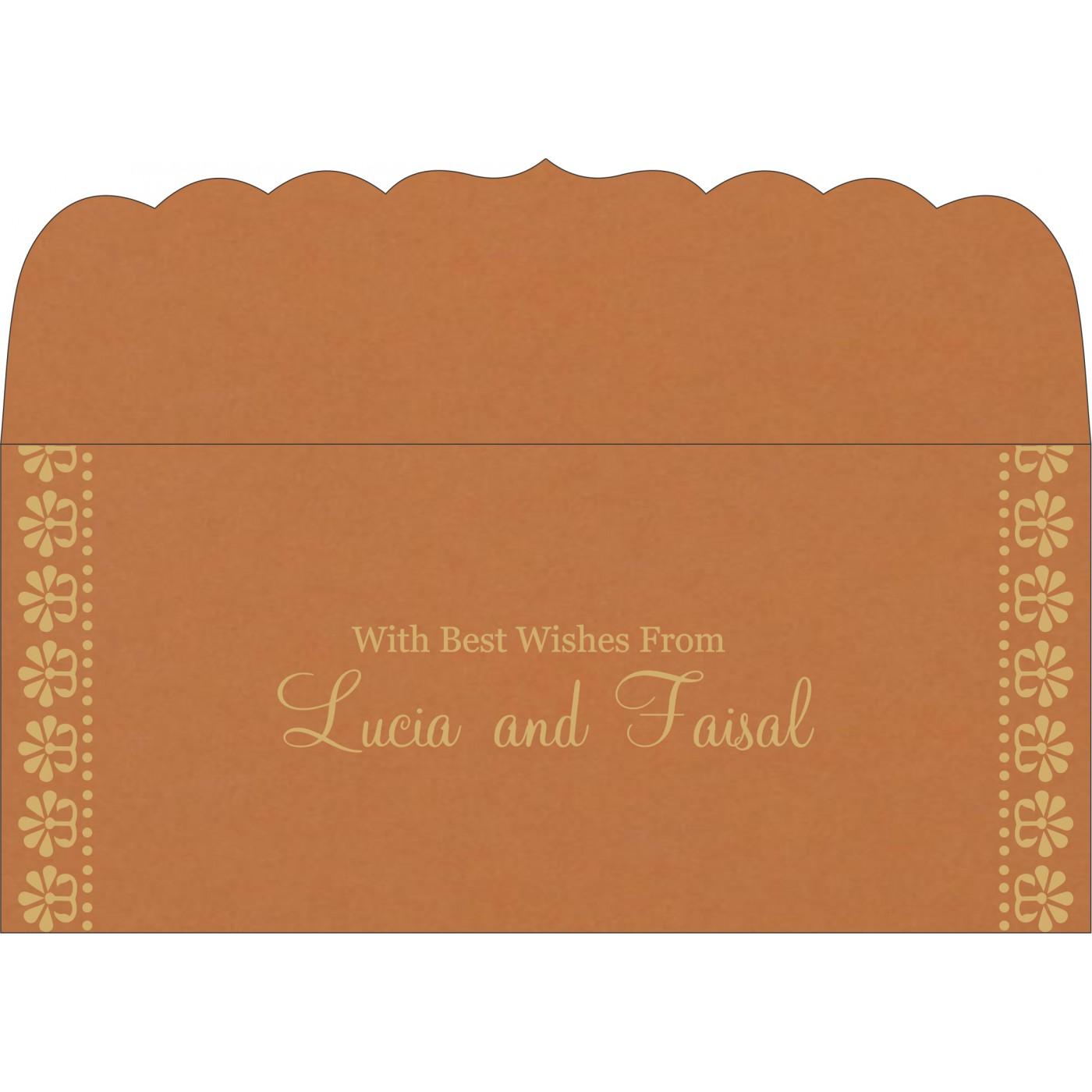 Money Envelopes : CME-8231H - IndianWeddingCards
