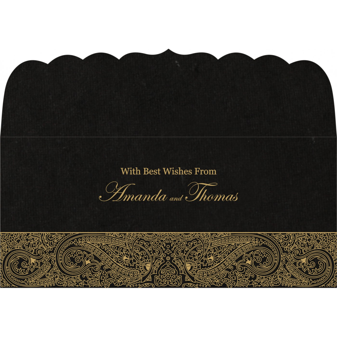 Money Envelopes : CME-8234A - IndianWeddingCards