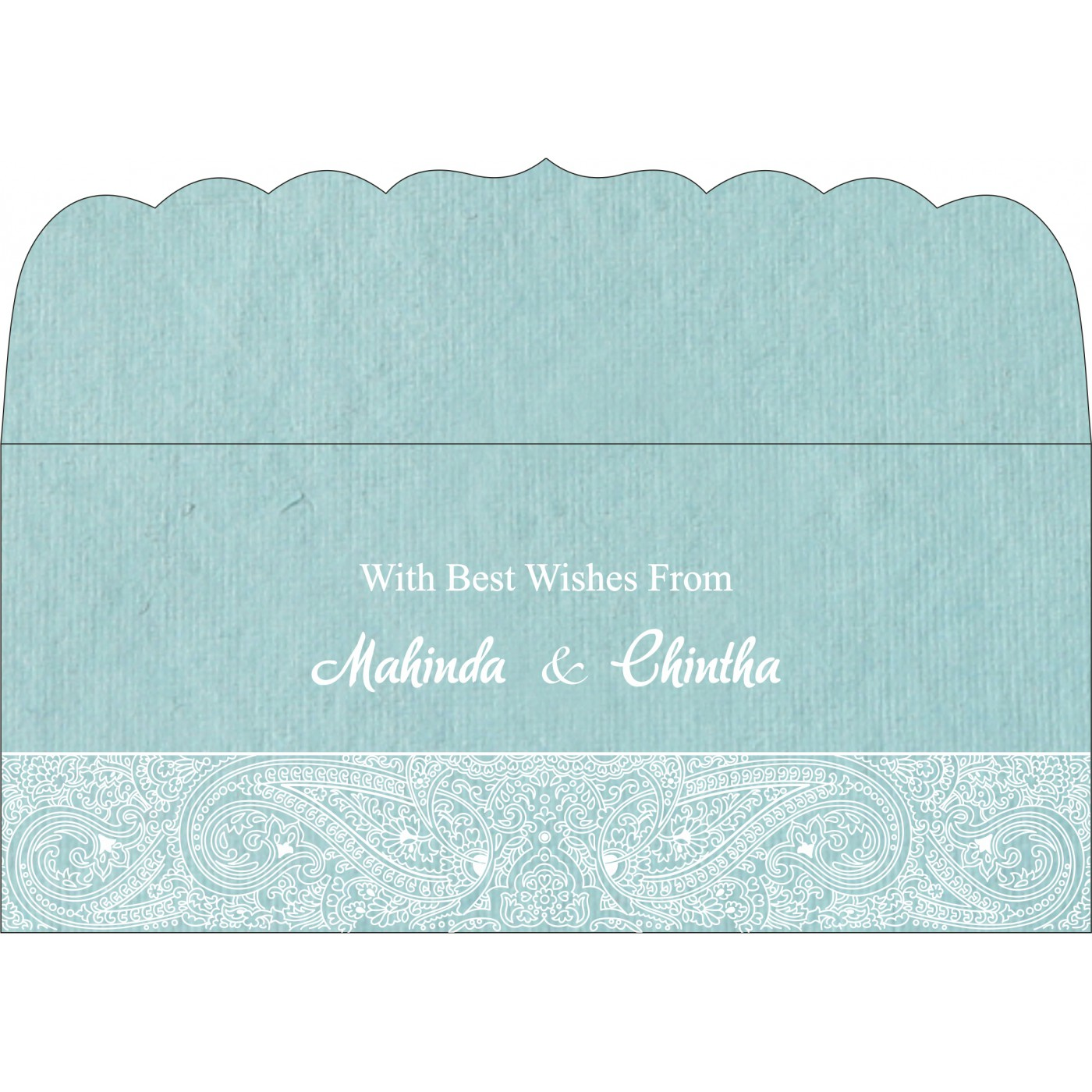 Money Envelopes : CME-8234E - IndianWeddingCards