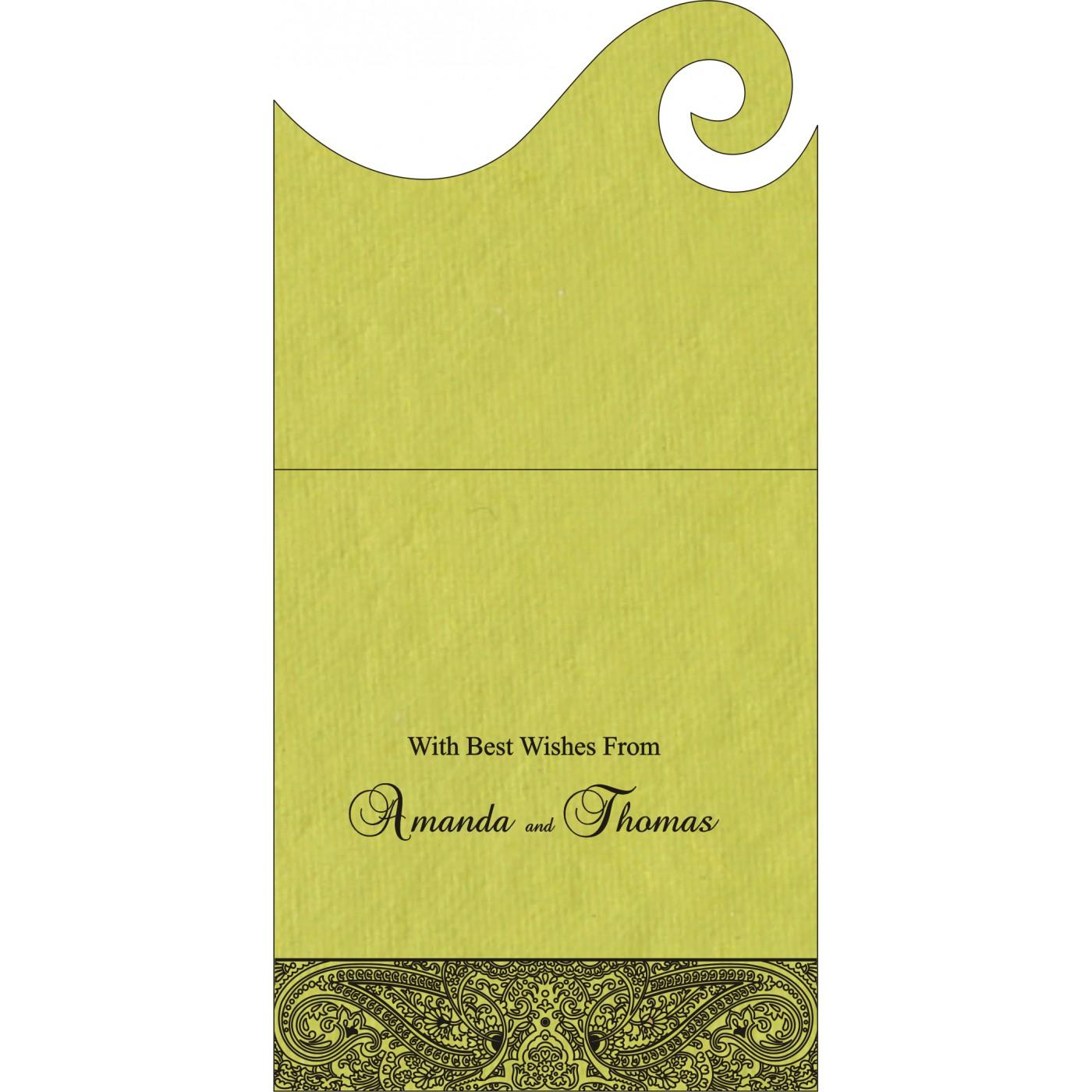 Money Envelopes : CME-8234H - IndianWeddingCards