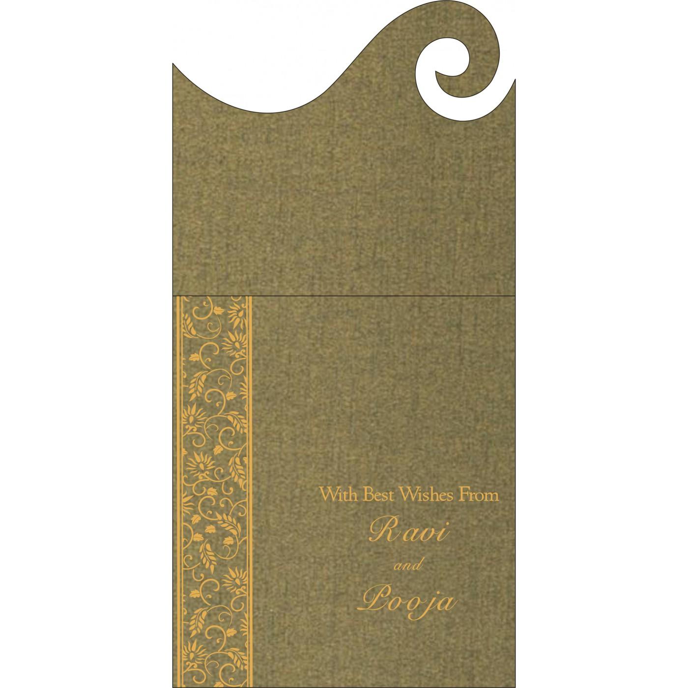 Money Envelopes : CME-8236H - IndianWeddingCards