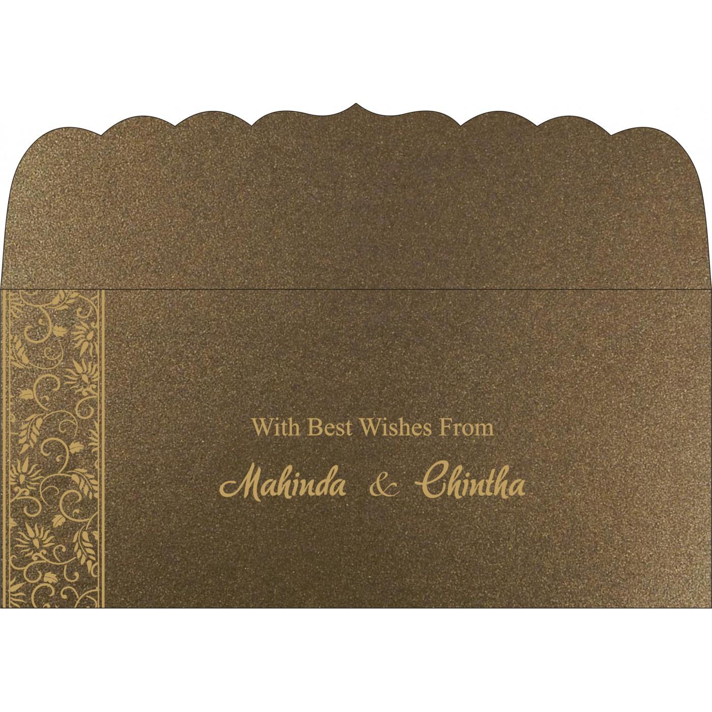 Money Envelopes : CME-8236I - IndianWeddingCards