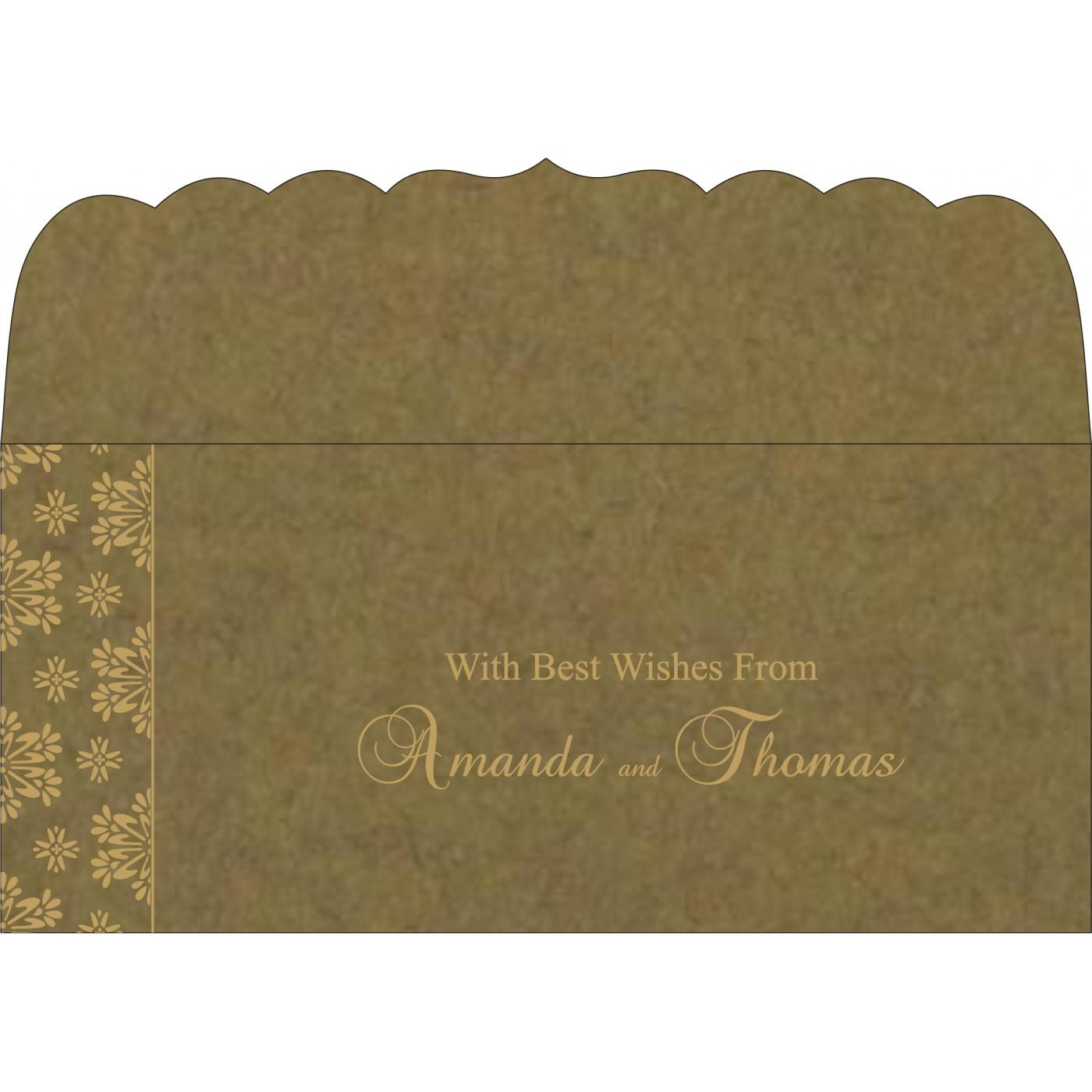 Money Envelopes : CME-8237E - IndianWeddingCards