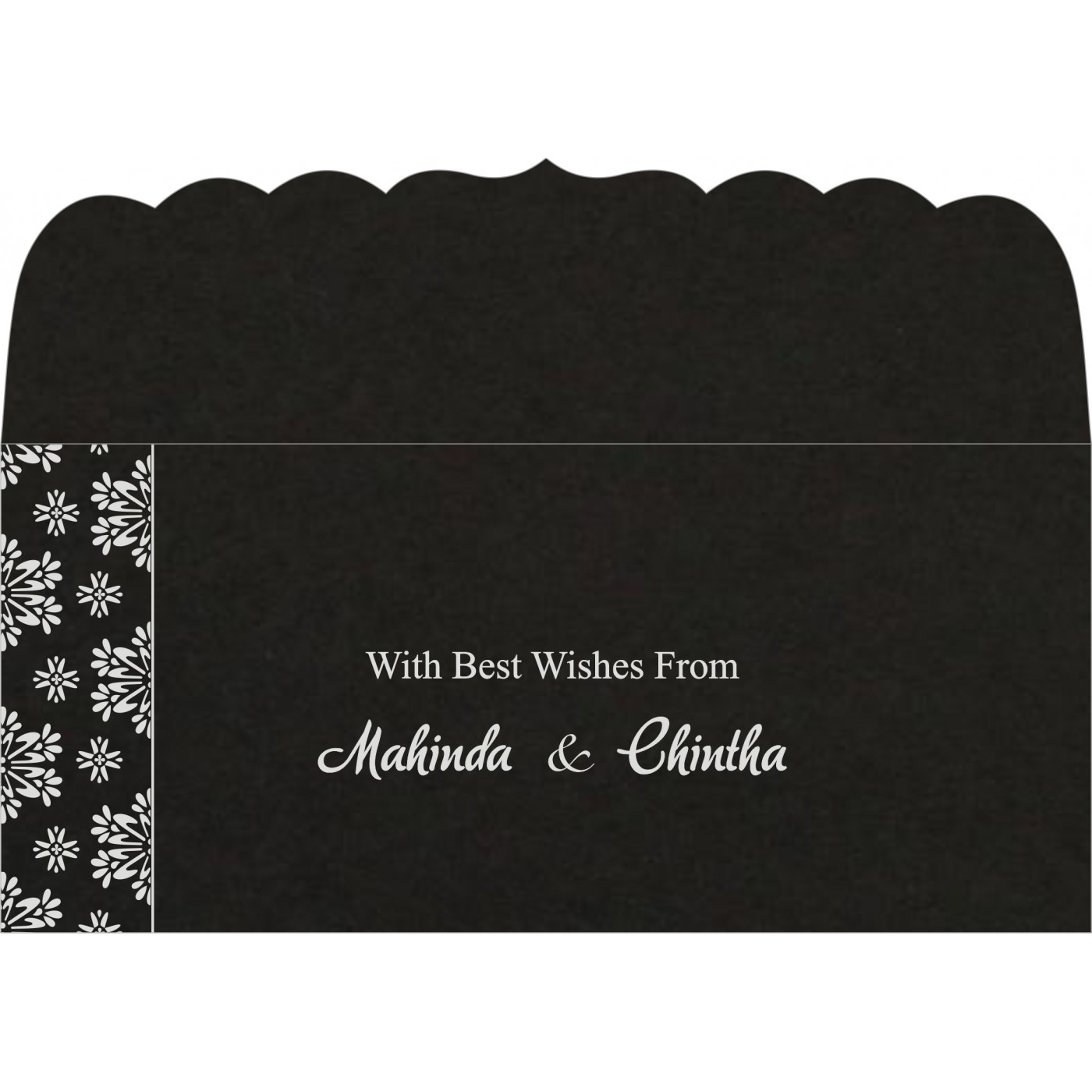 Money Envelopes : CME-8237H - IndianWeddingCards