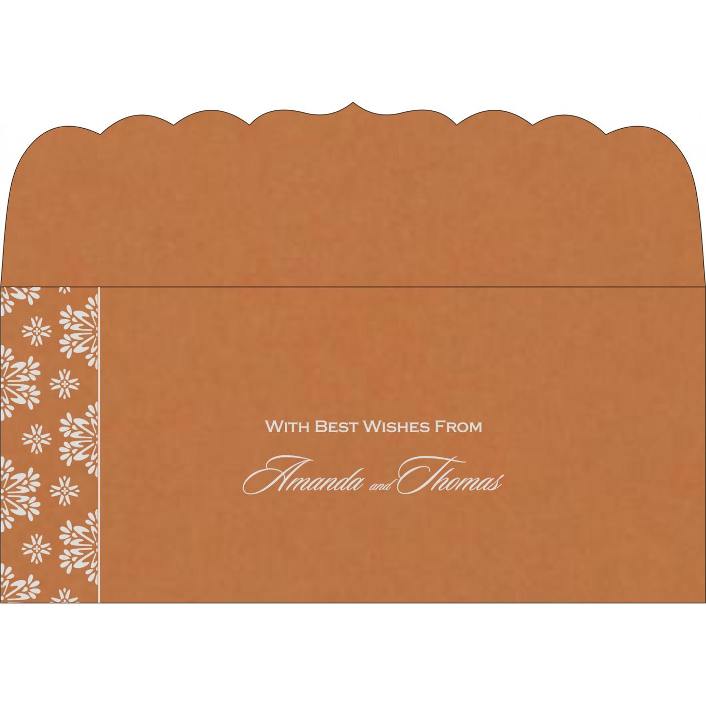 Money Envelopes : CME-8237J - IndianWeddingCards
