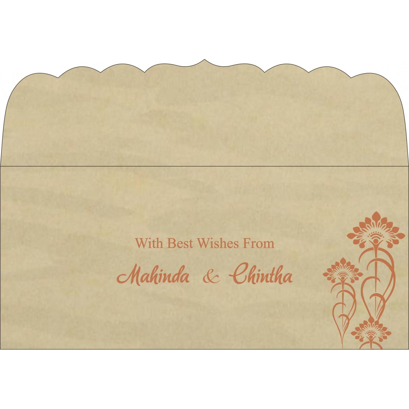 Money Envelopes : CME-8239I - IndianWeddingCards